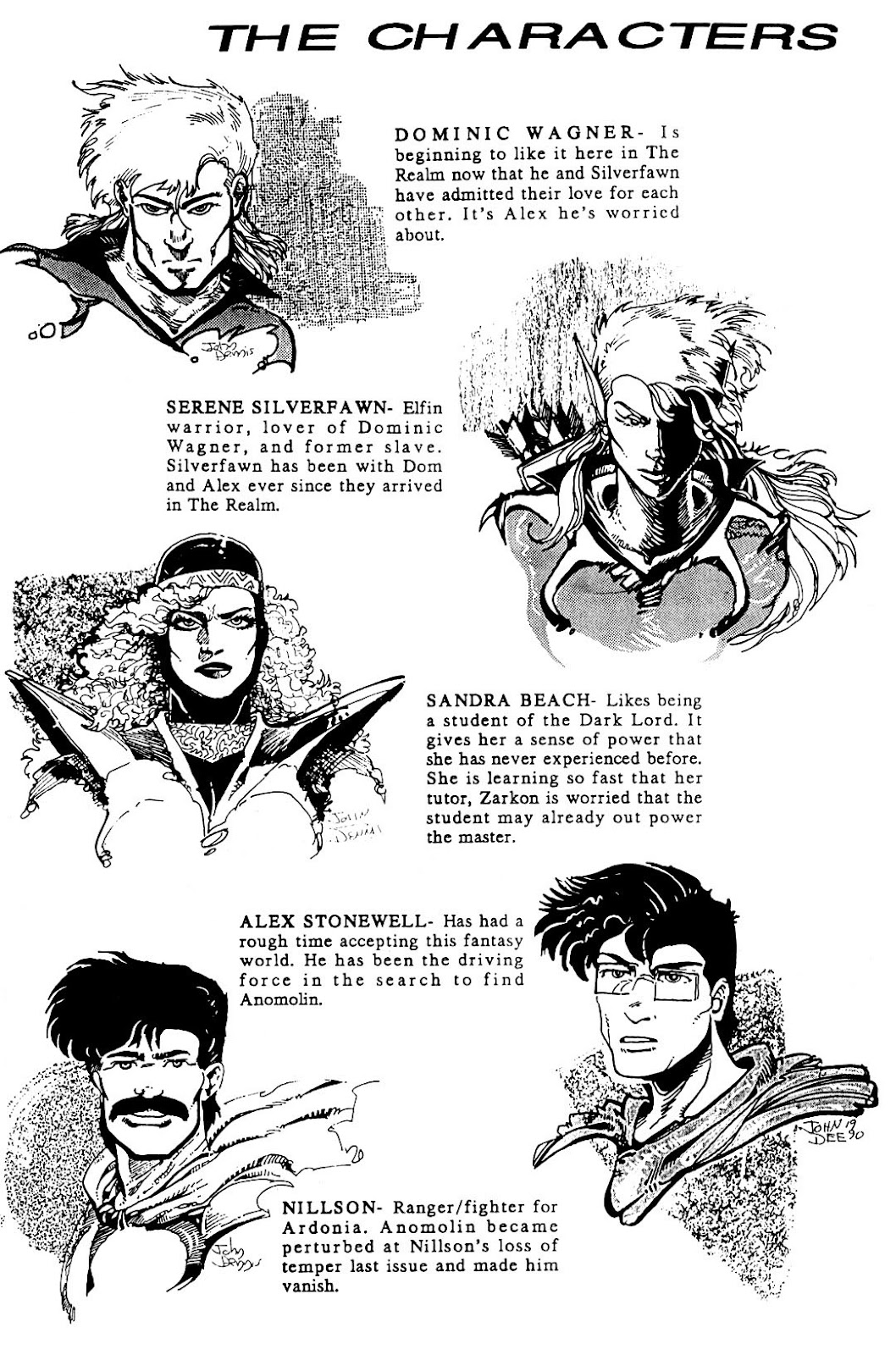 The Realm (1986) issue 20 - Page 3