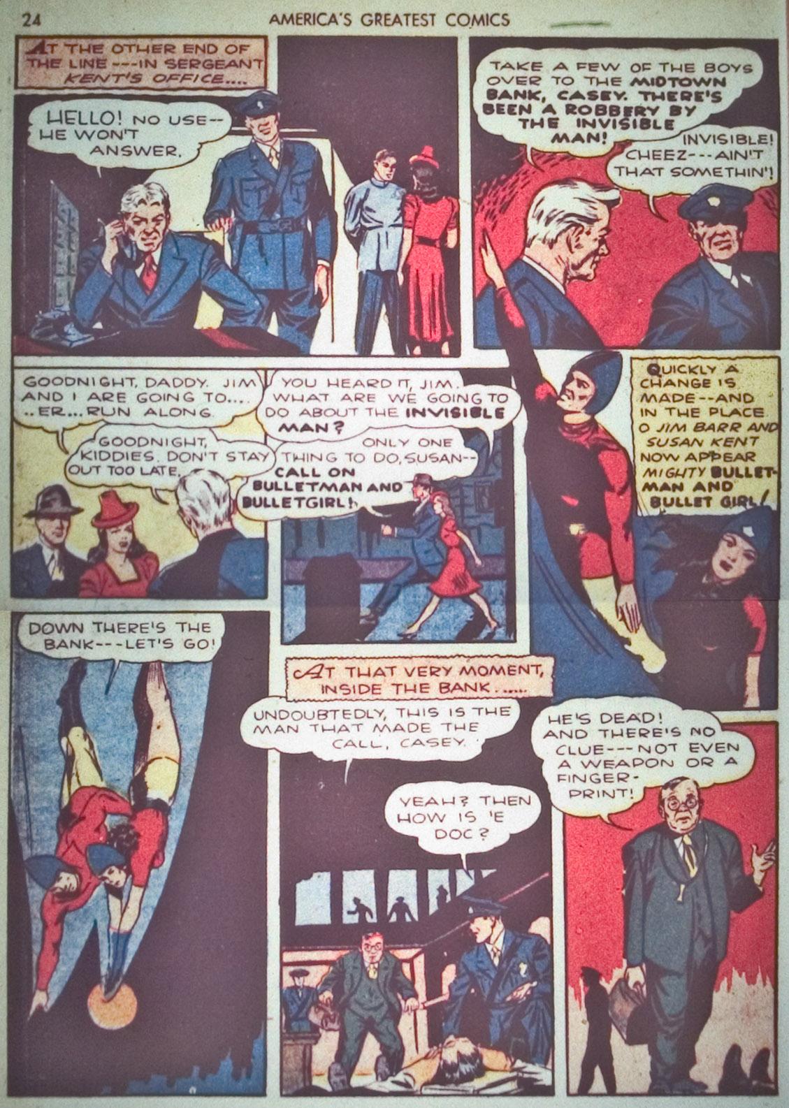 Read online America's Greatest Comics comic -  Issue #1 - 27