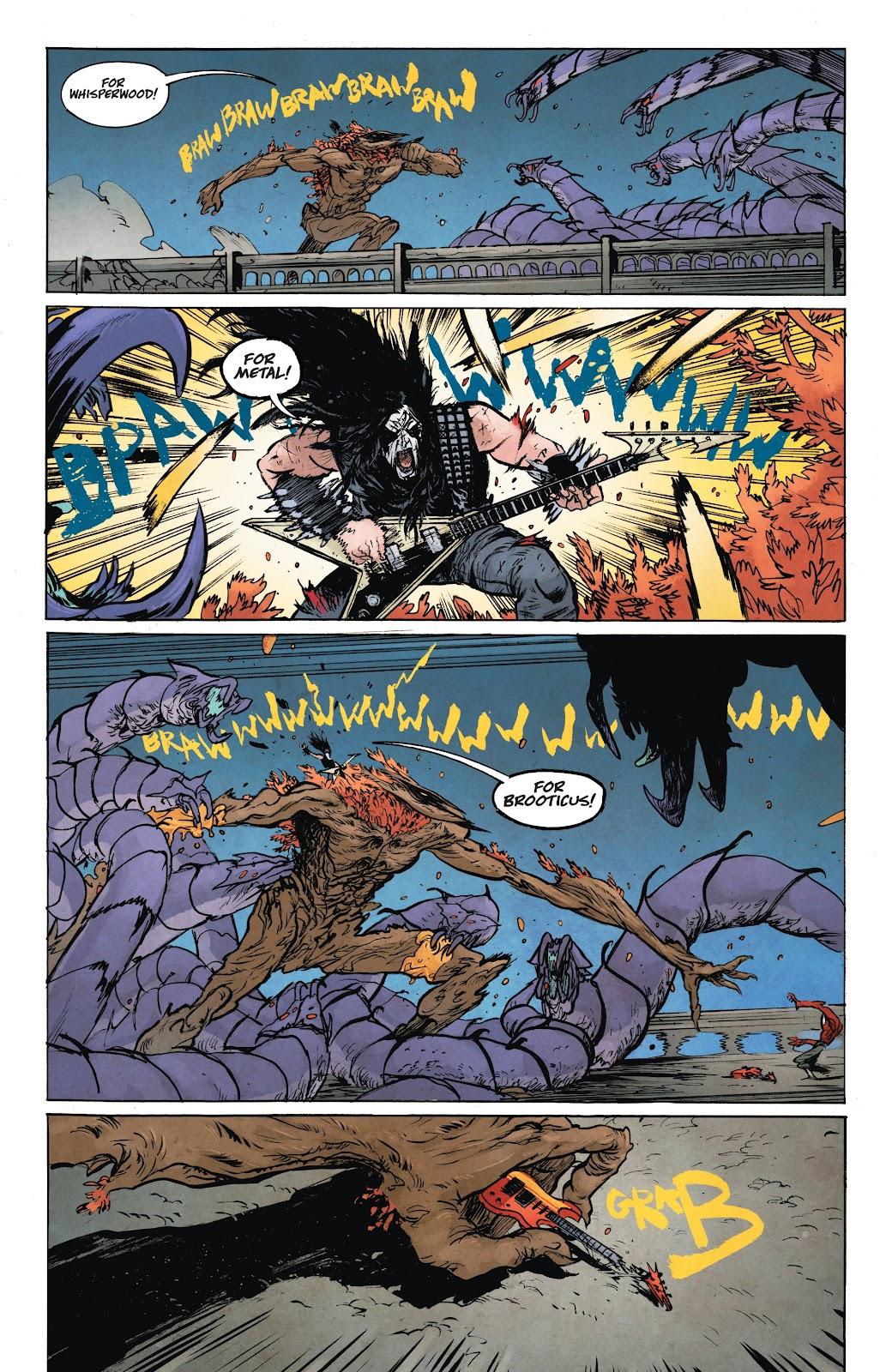 Read online Murder Falcon comic -  Issue #6 - 23