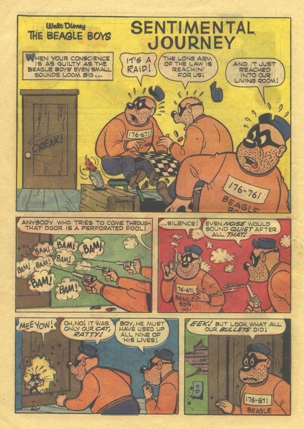 Walt Disney THE BEAGLE BOYS issue 3 - Page 16