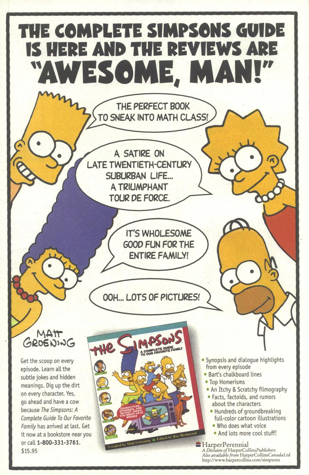 Read online Simpsons Comics comic -  Issue #35 - 23