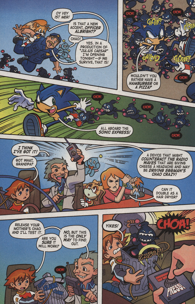 Read online Sonic X comic -  Issue #6 - 28