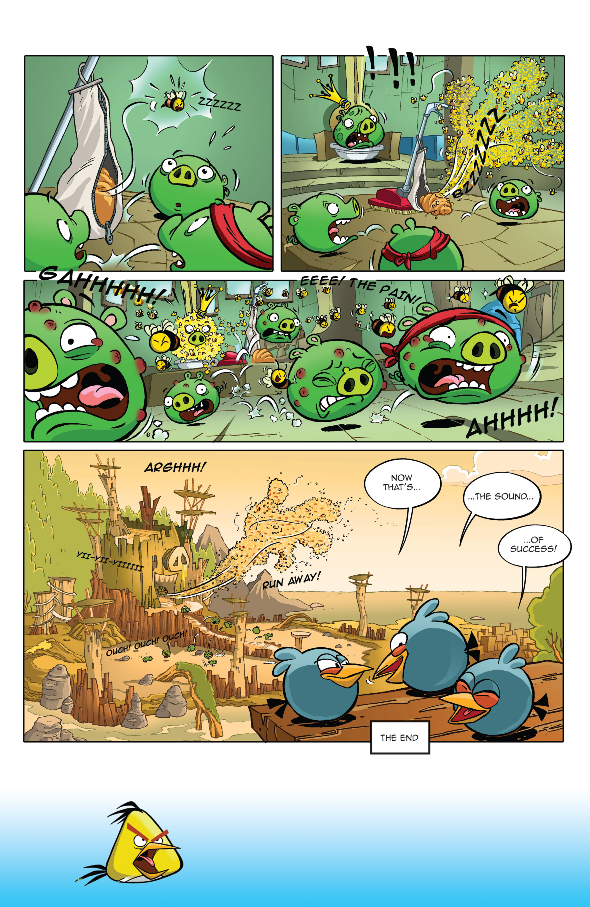 Read online Angry Birds Comics (2014) comic -  Issue #2 - 6