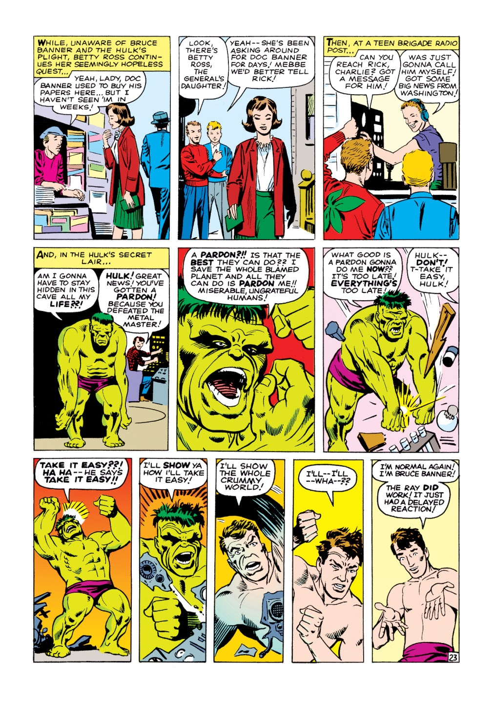 Read online Marvel Masterworks: The Incredible Hulk comic -  Issue # TPB 1 (Part 2) - 52