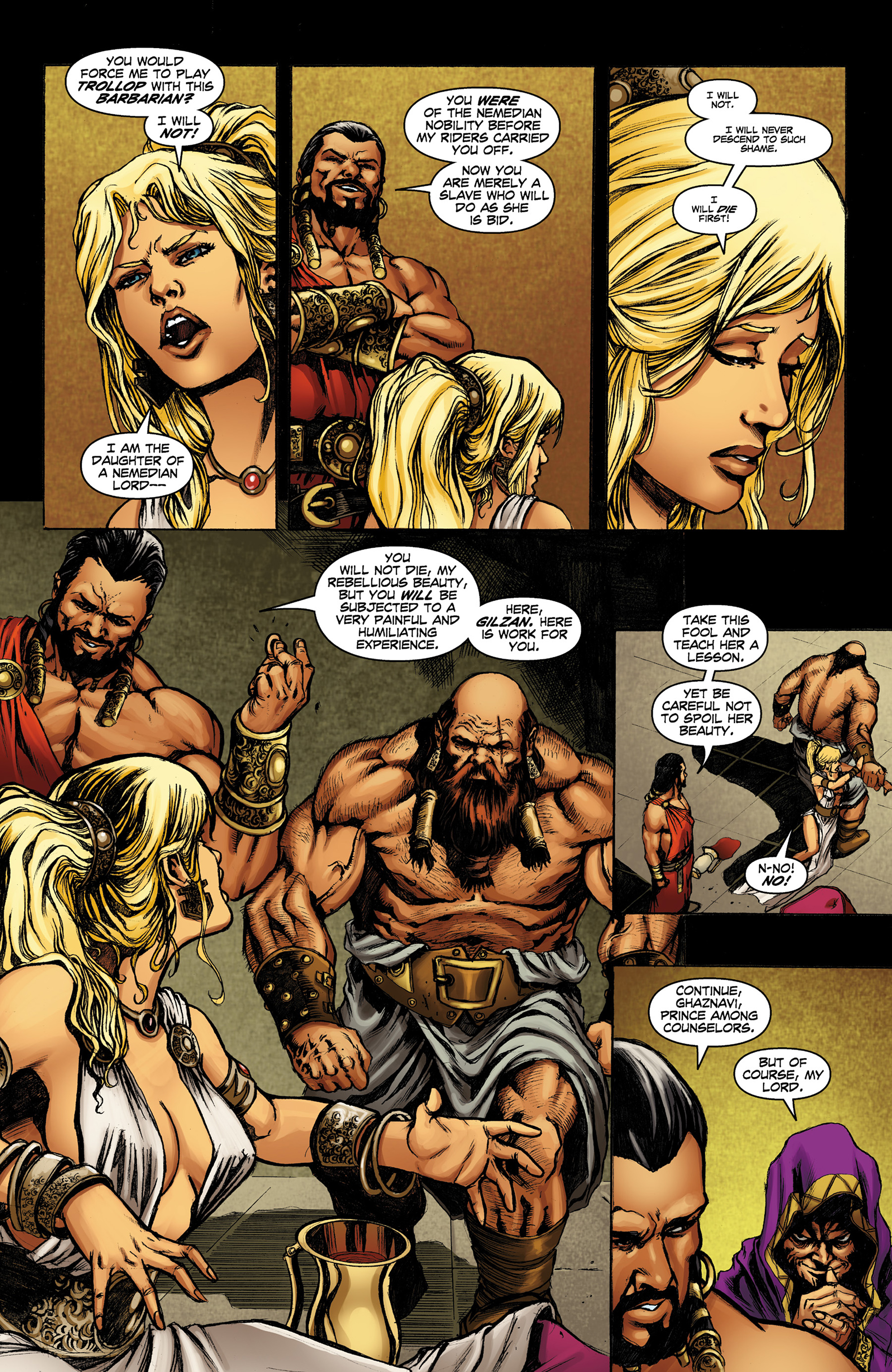 Read online Conan The Slayer comic -  Issue #8 - 10
