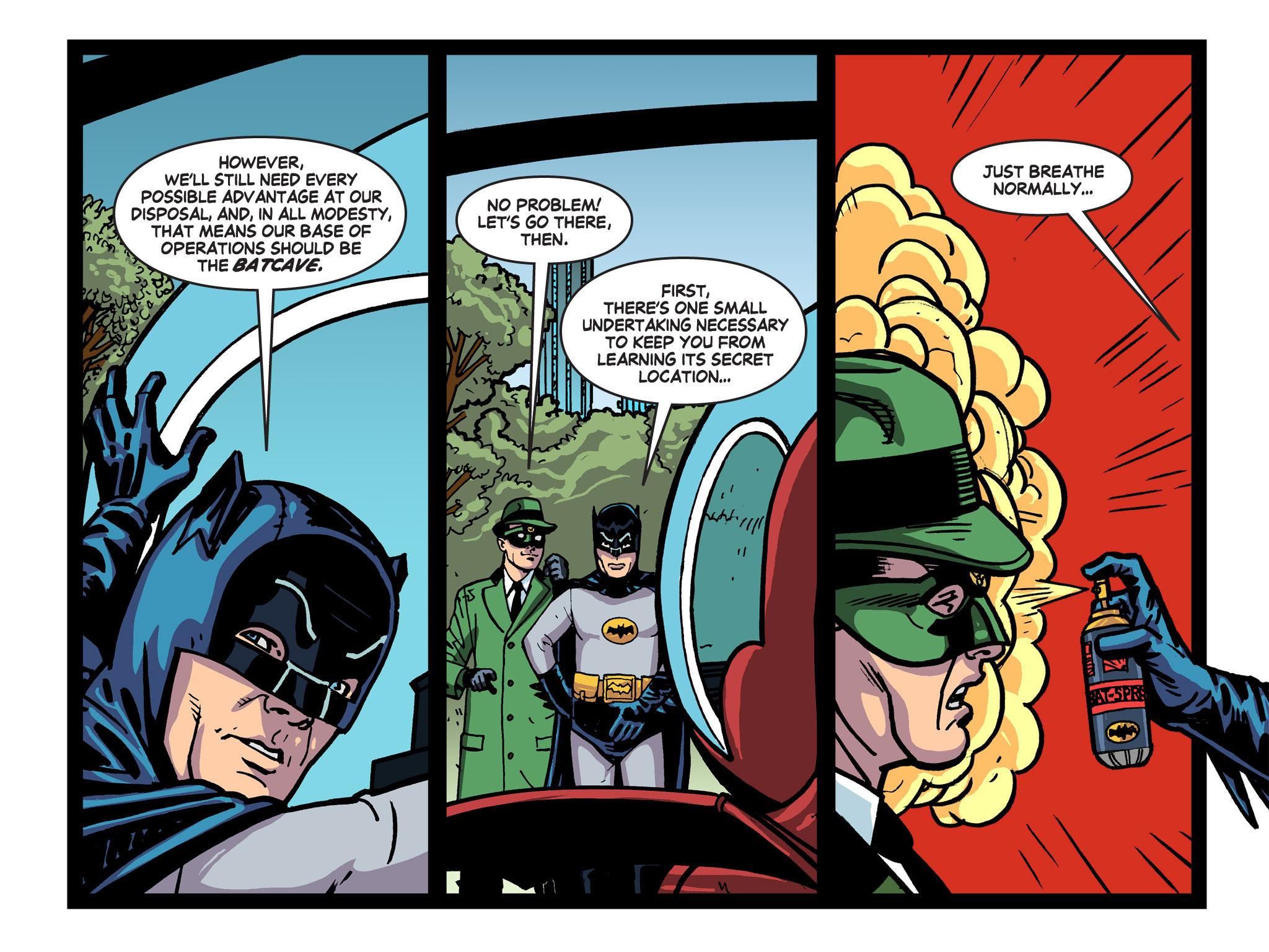 Read online Batman '66 Meets the Green Hornet [II] comic -  Issue #5 - 43