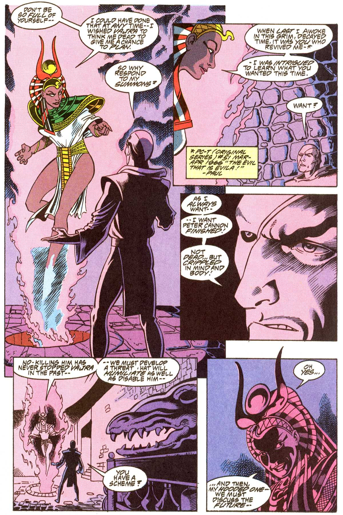 Read online Peter Cannon--Thunderbolt (1992) comic -  Issue #8 - 8
