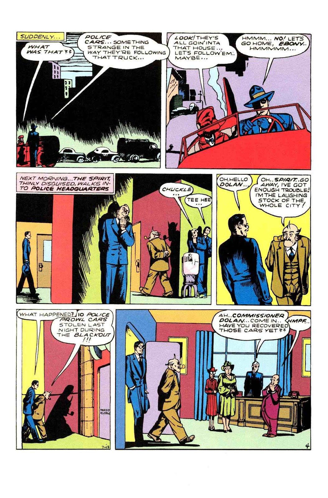 Read online Will Eisner's The Spirit Archives comic -  Issue # TPB 3 (Part 1) - 13