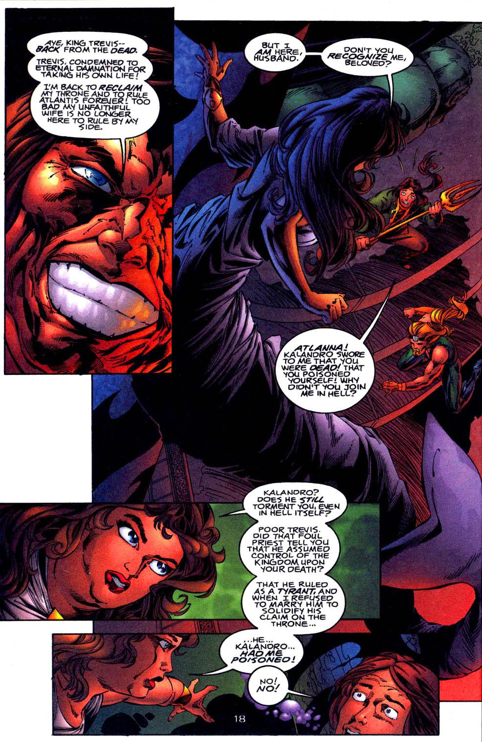 Read online Aquaman (1994) comic -  Issue #61 - 19