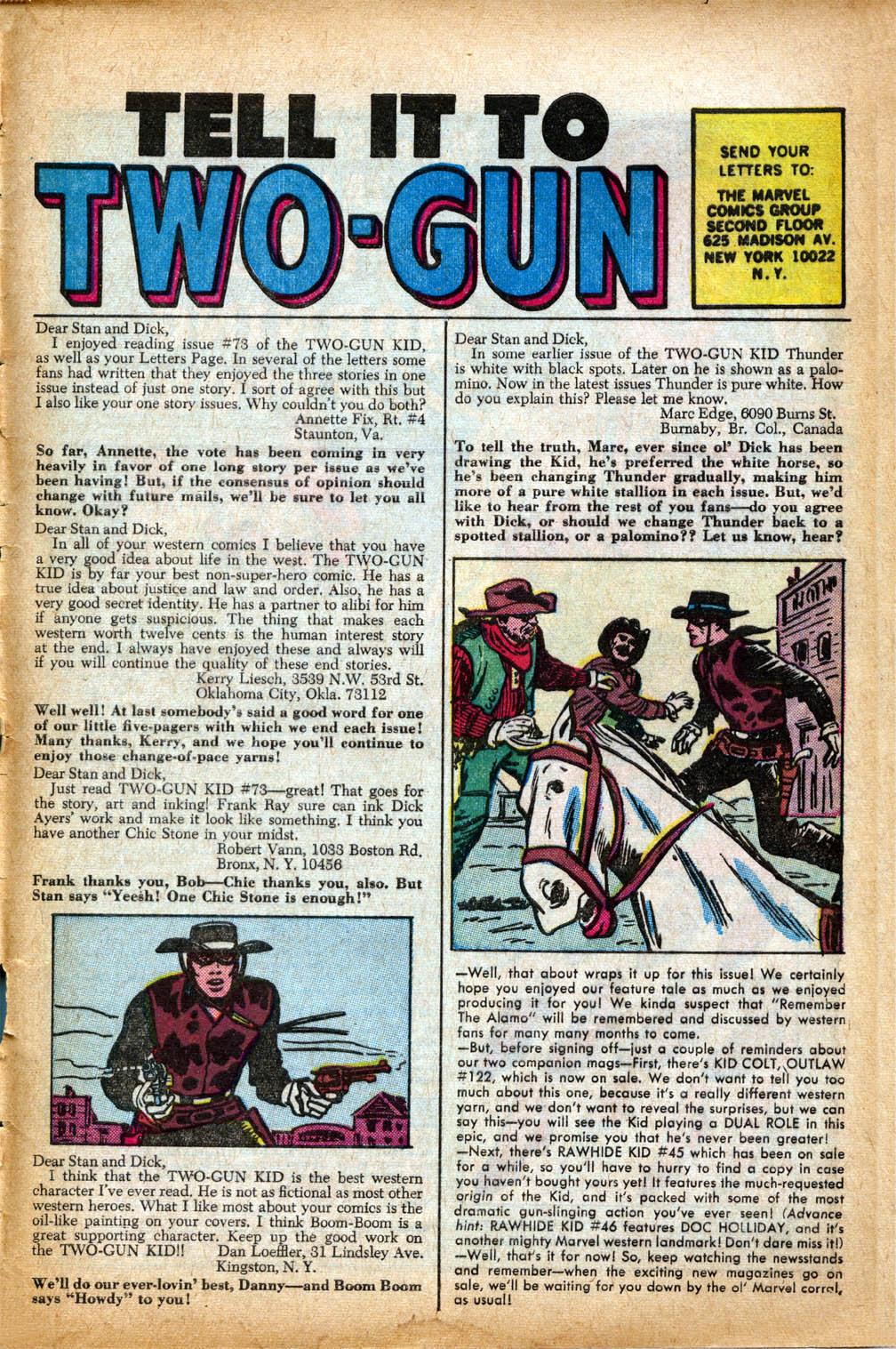 Read online Two-Gun Kid comic -  Issue #75 - 34