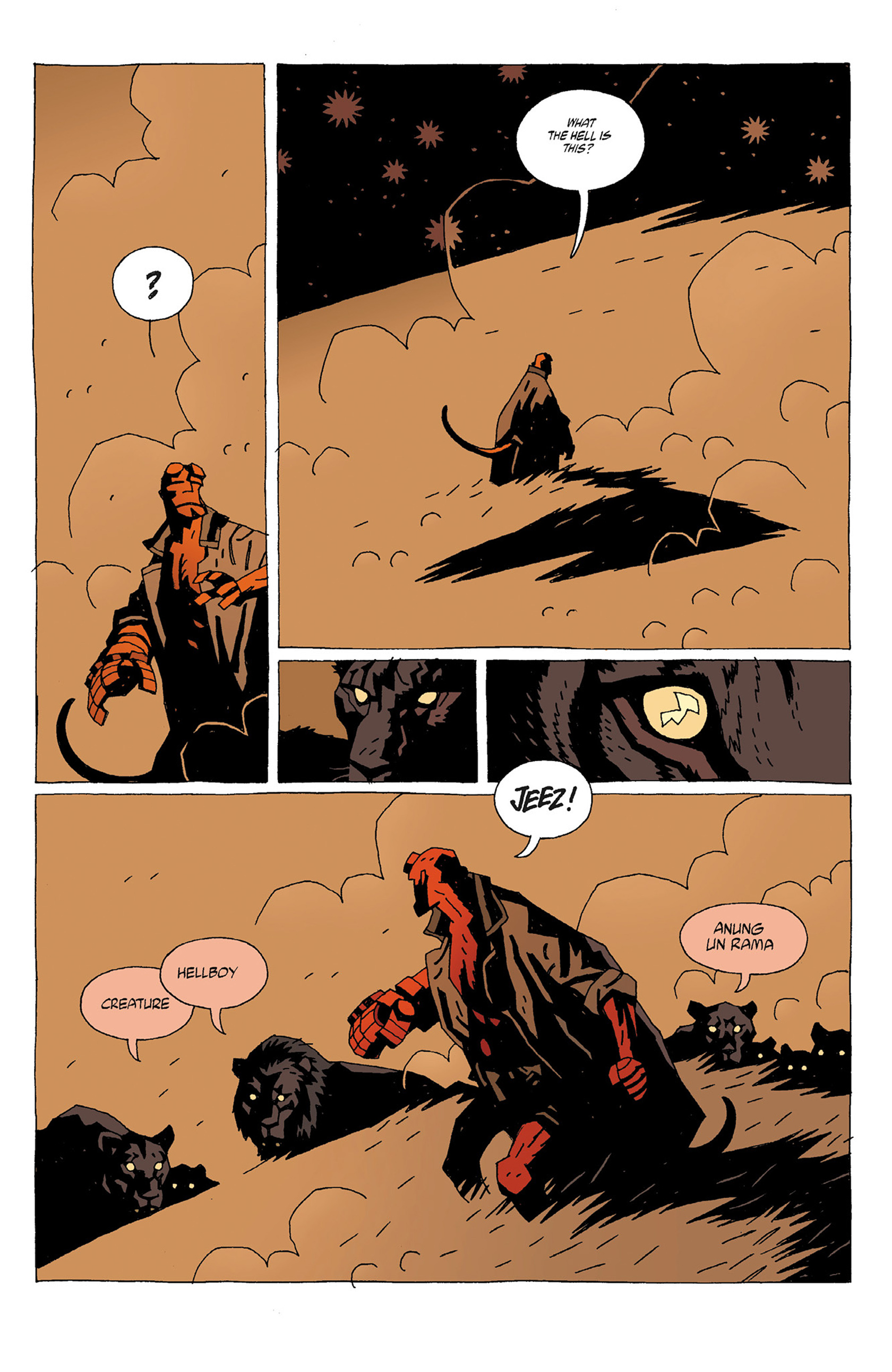 Read online Hellboy: Strange Places comic -  Issue # TPB - 15