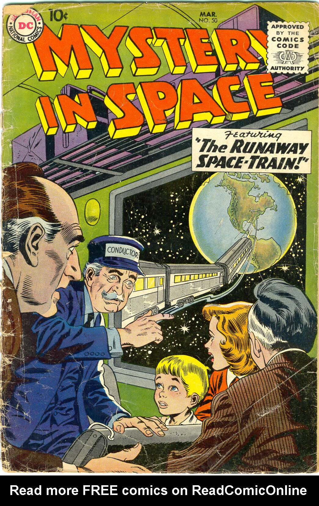 Mystery in Space (1951) issue 50 - Page 1