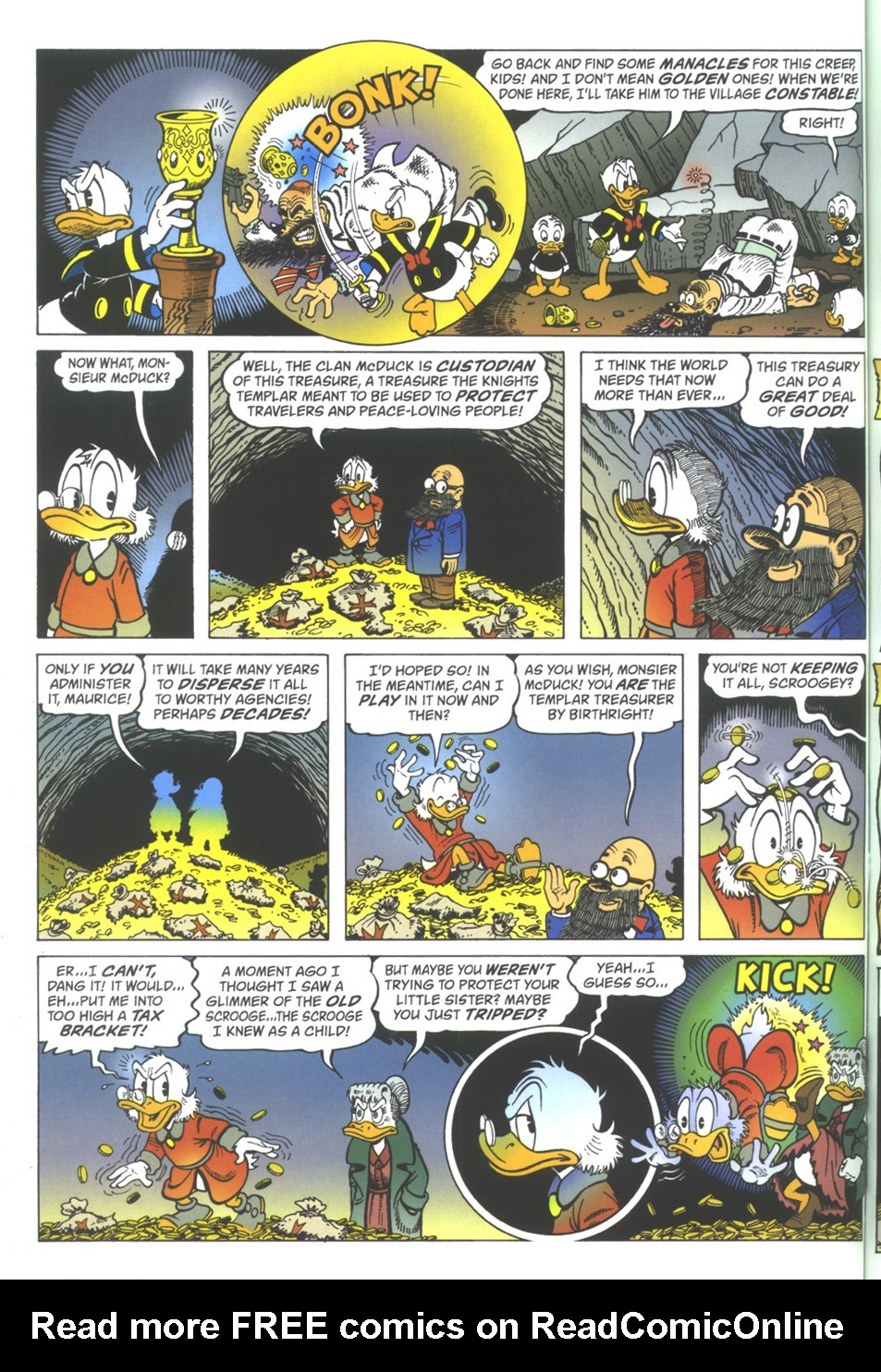 Read online Uncle Scrooge (1953) comic -  Issue #342 - 50