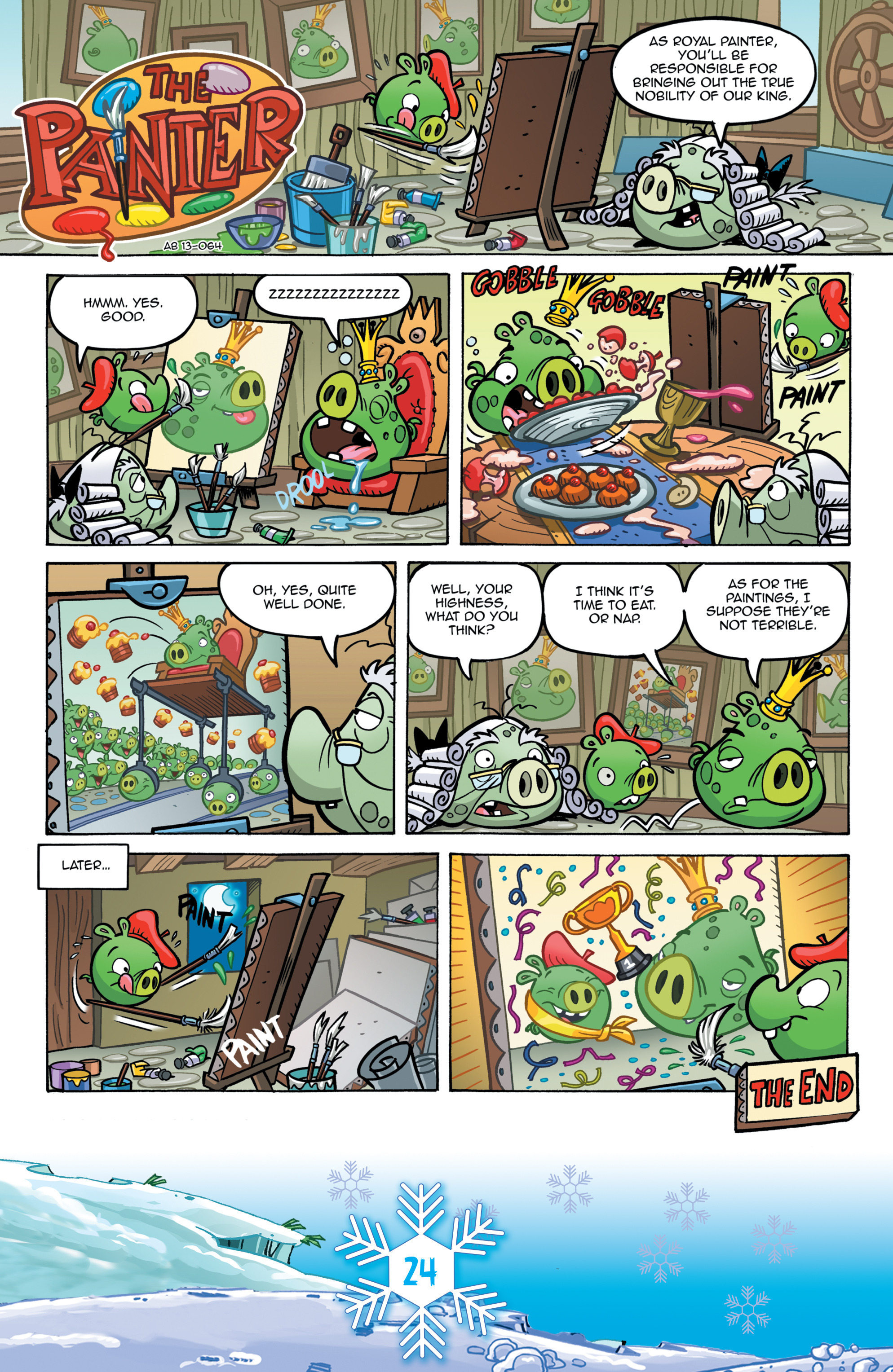 Read online Angry Birds Comics (2016) comic -  Issue #12 - 26