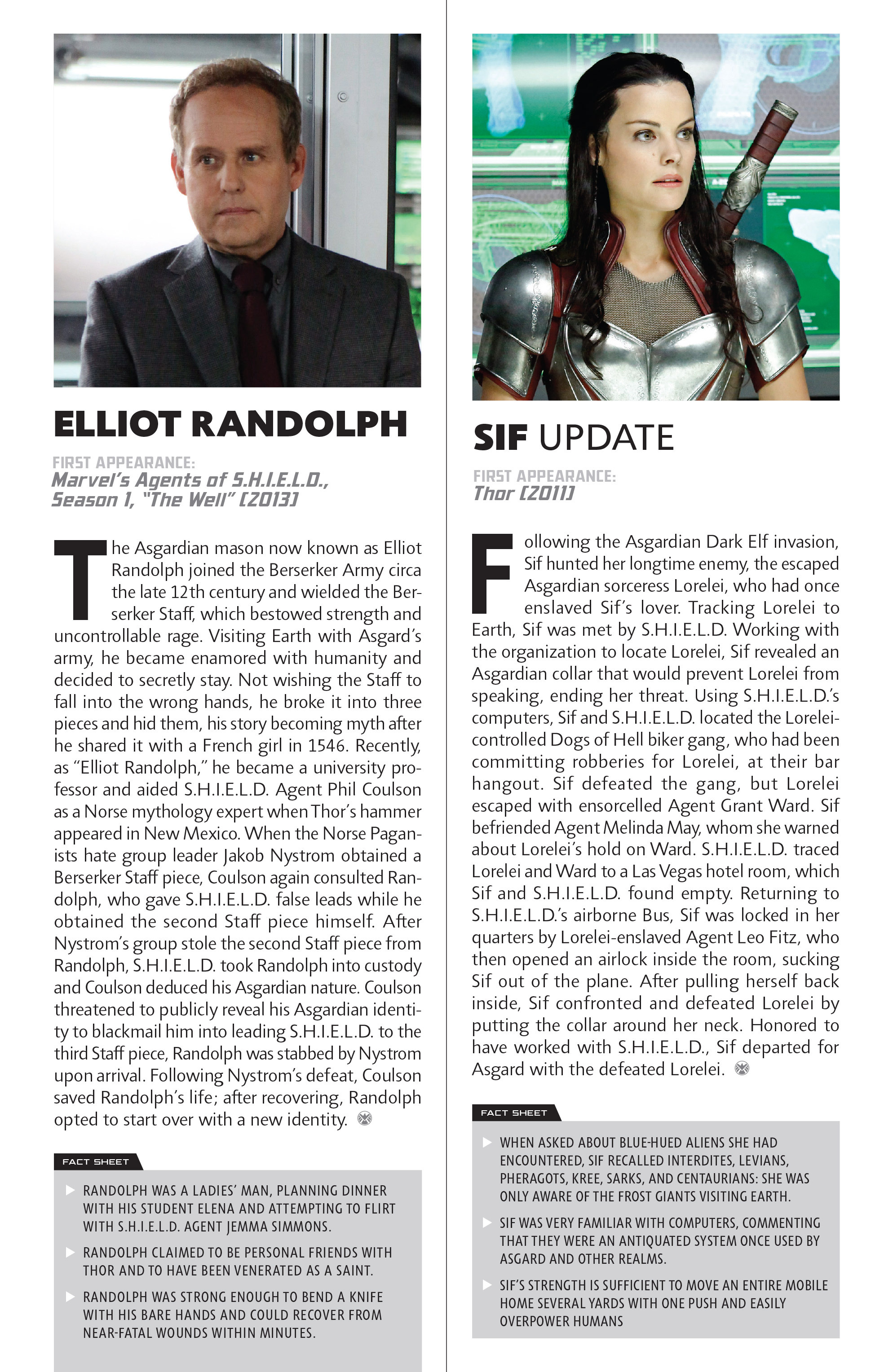 Read online Guidebook to the Marvel Cinematic Universe - Marvel's Agents of S.H.I.E.L.D. Season One comic -  Issue # Full - 21