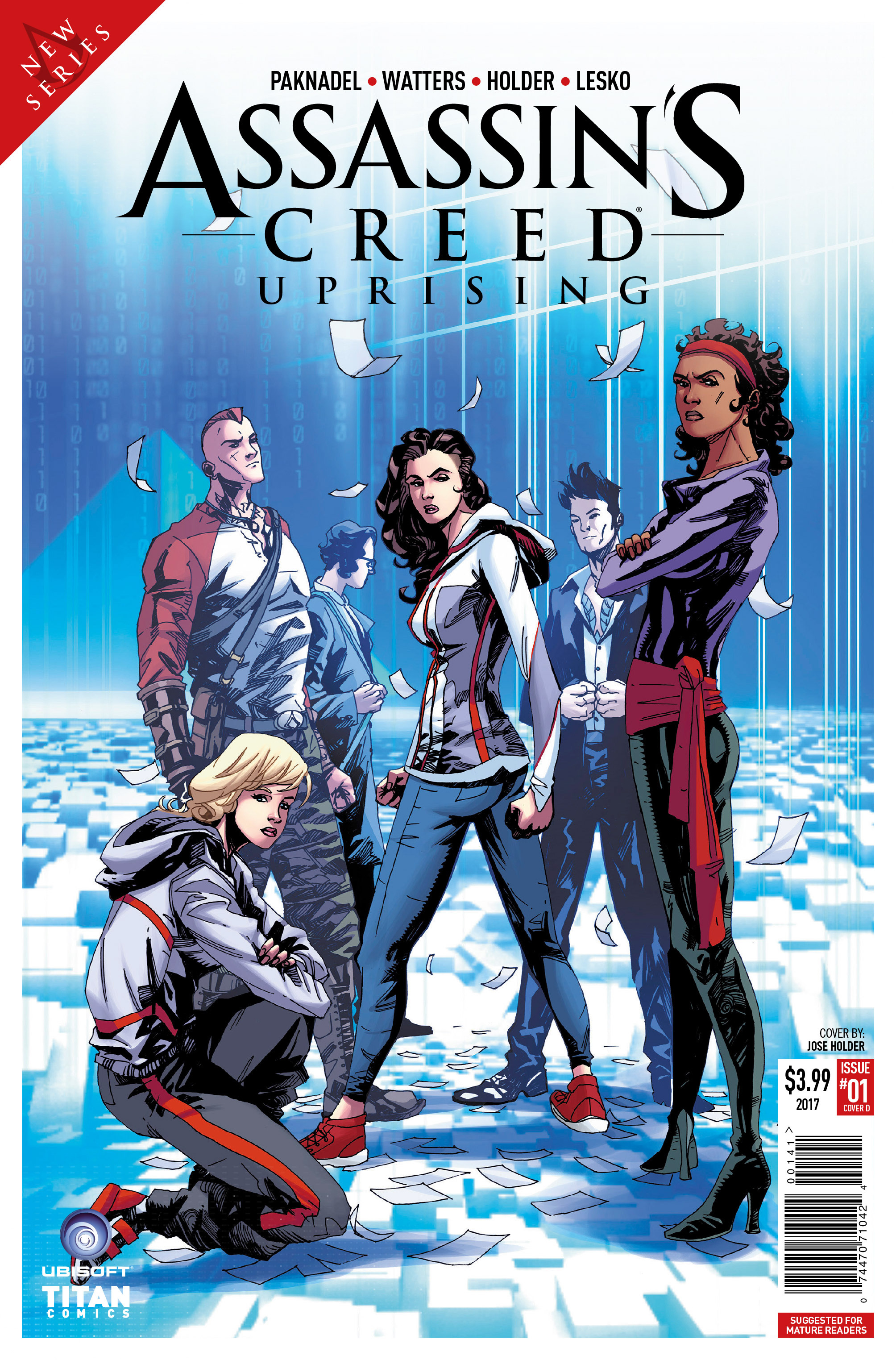 Read online Assassin's Creed: Uprising comic -  Issue #1 - 4