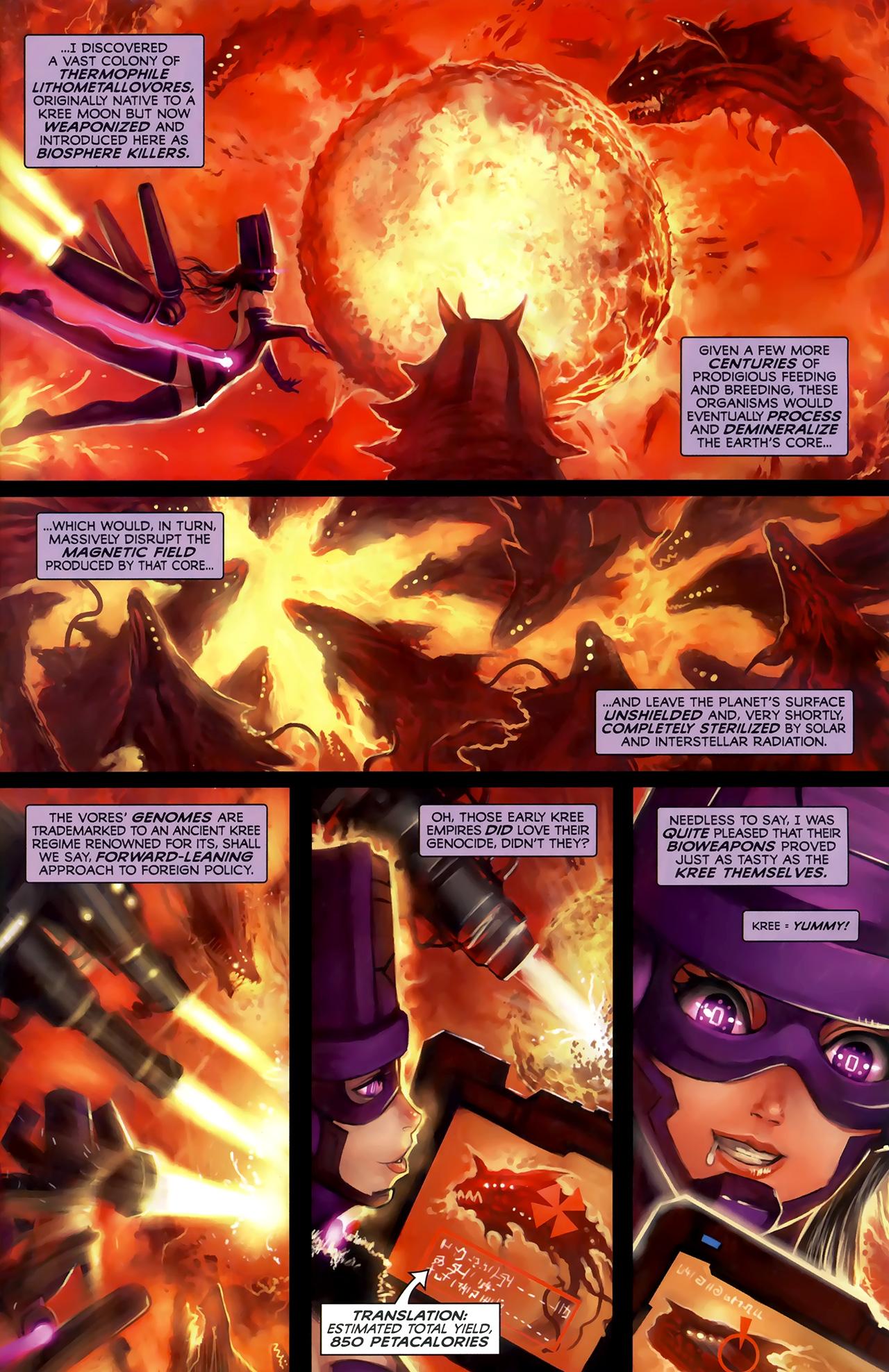 Read online Galacta: Daughter of Galactus comic -  Issue # Full - 7