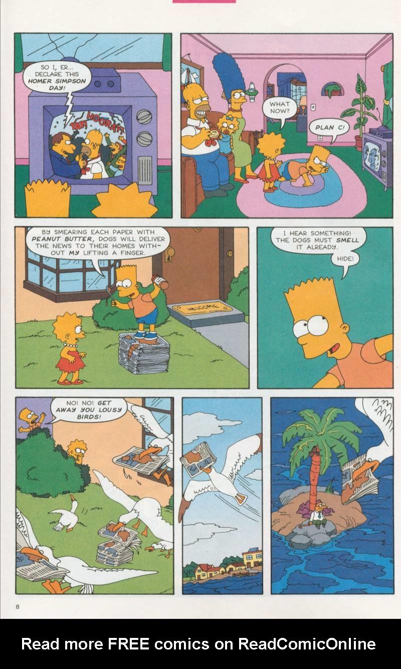 Read online Simpsons Comics comic -  Issue #61 - 9