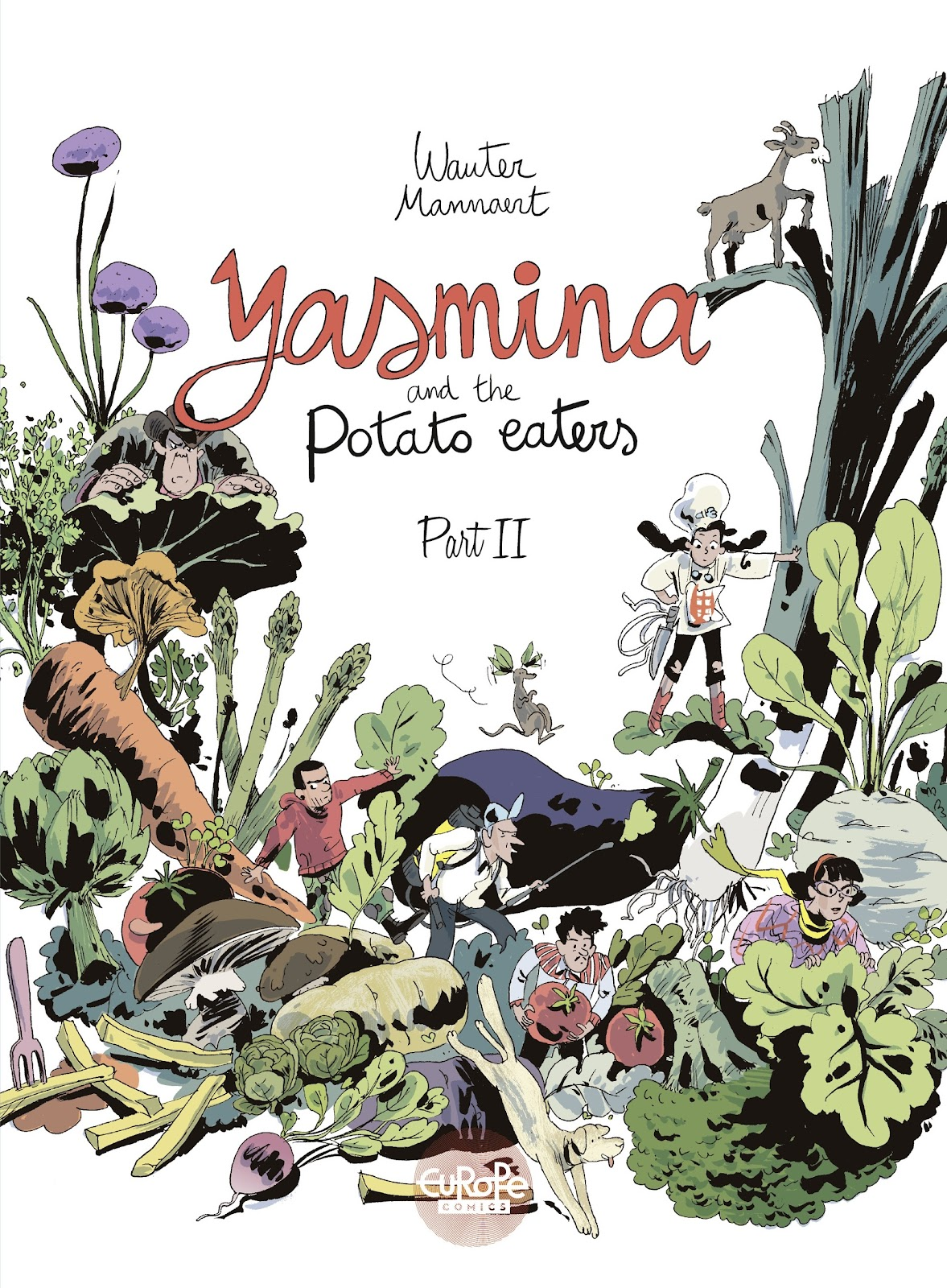 Yasmina and the Potato Eaters 2 Page 1