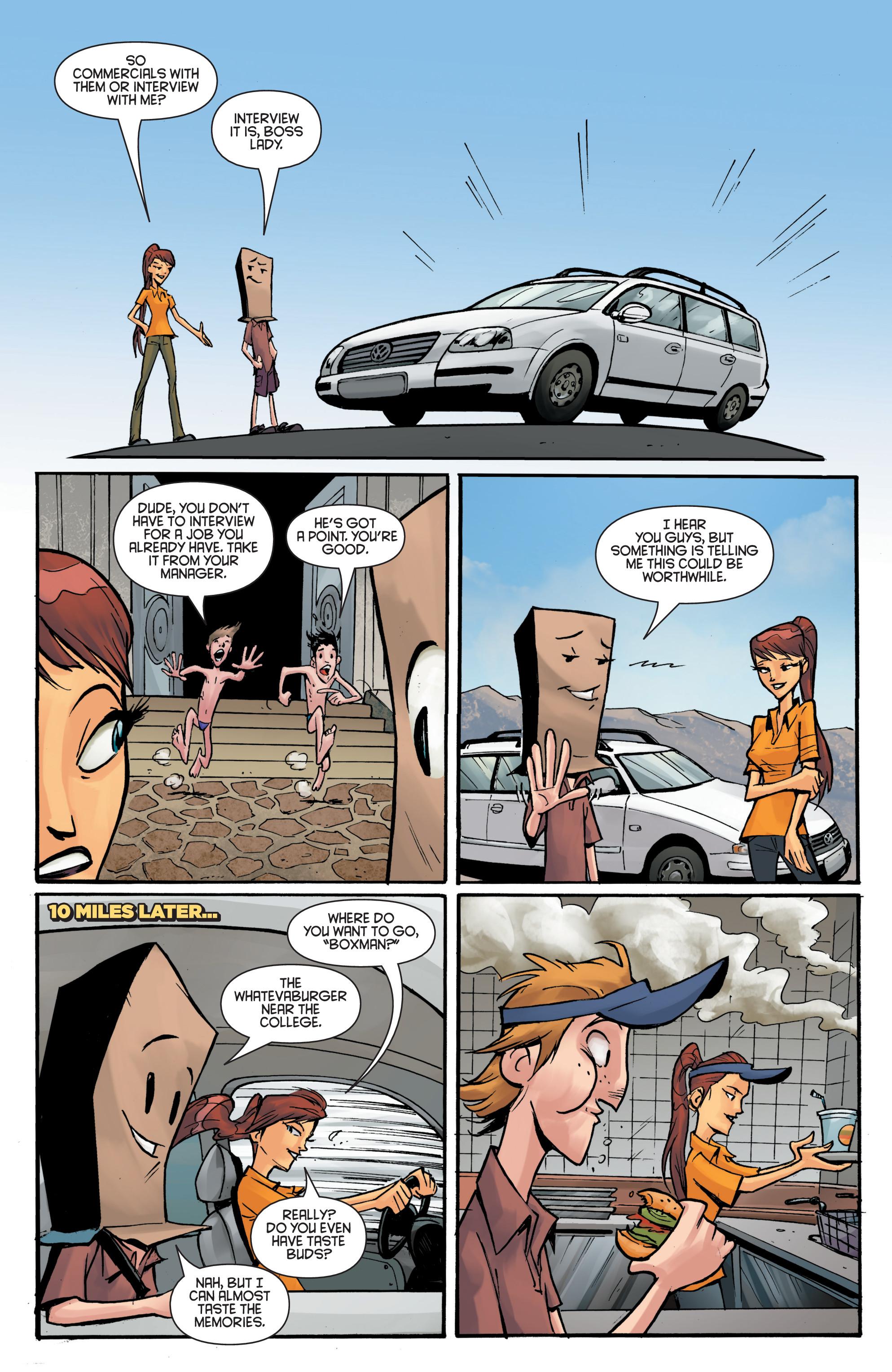 Read online Smosh comic -  Issue #5 - 10