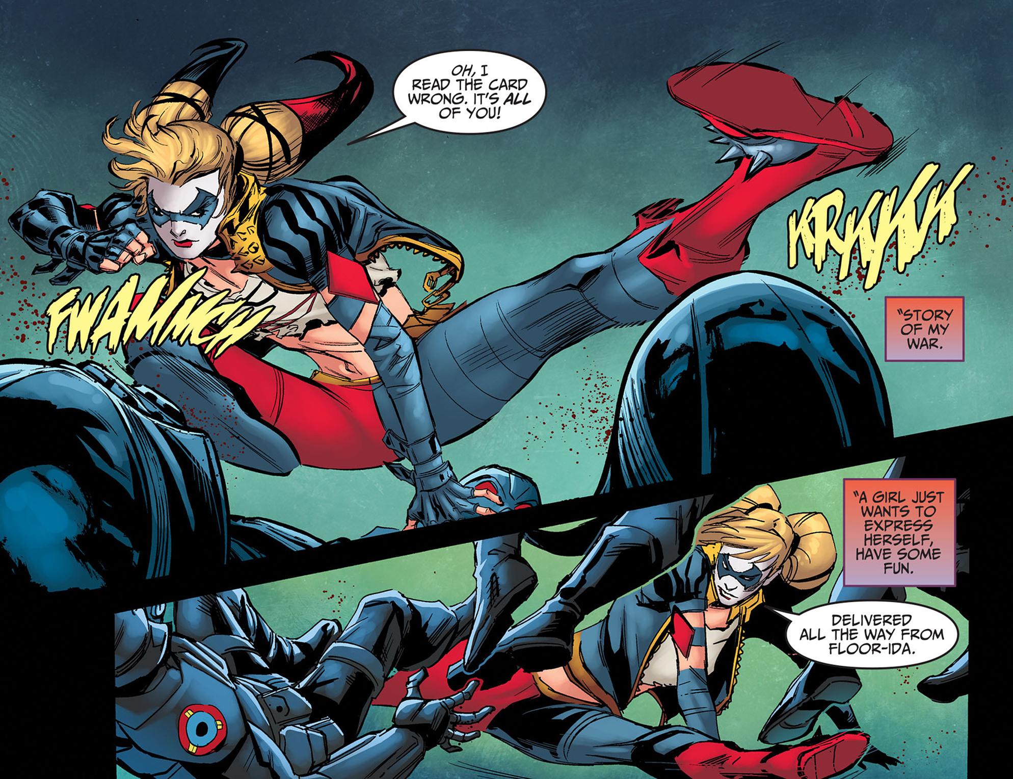 Read online Injustice: Ground Zero comic -  Issue #14 - 8