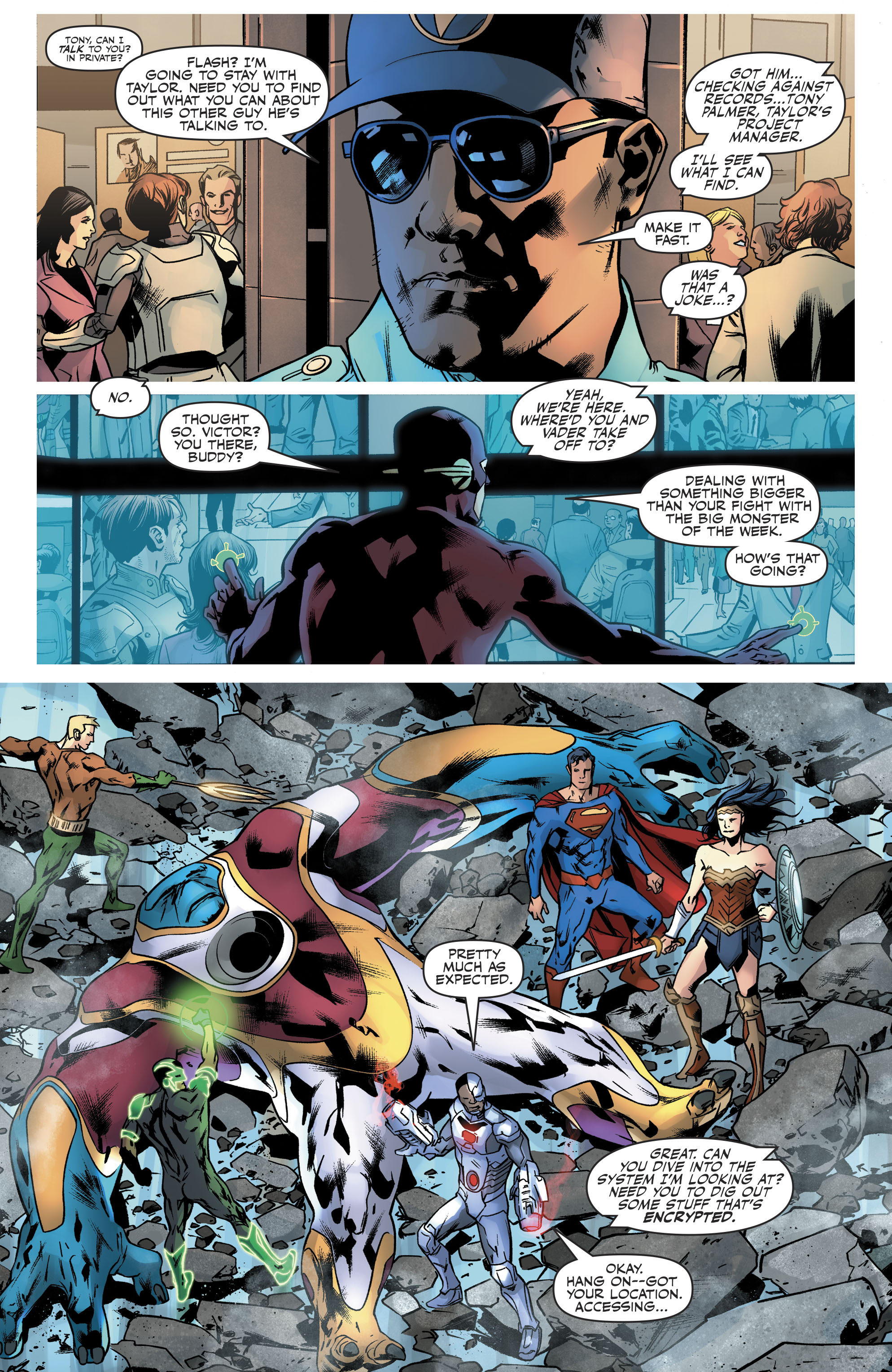 Read online Justice League (2016) comic -  Issue #21 - 12
