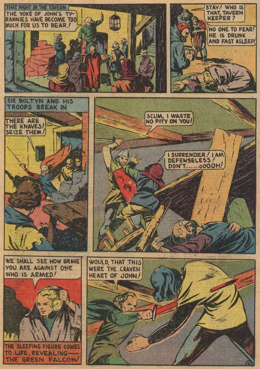 Blue Ribbon Comics (1939) issue 7 - Page 62