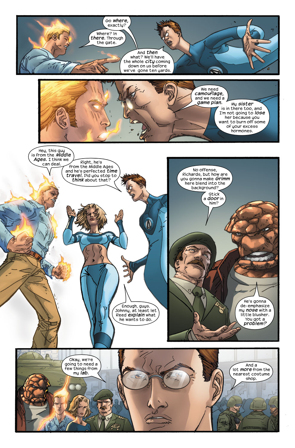 Read online Ultimate Fantastic Four (2004) comic -  Issue #40 - 4