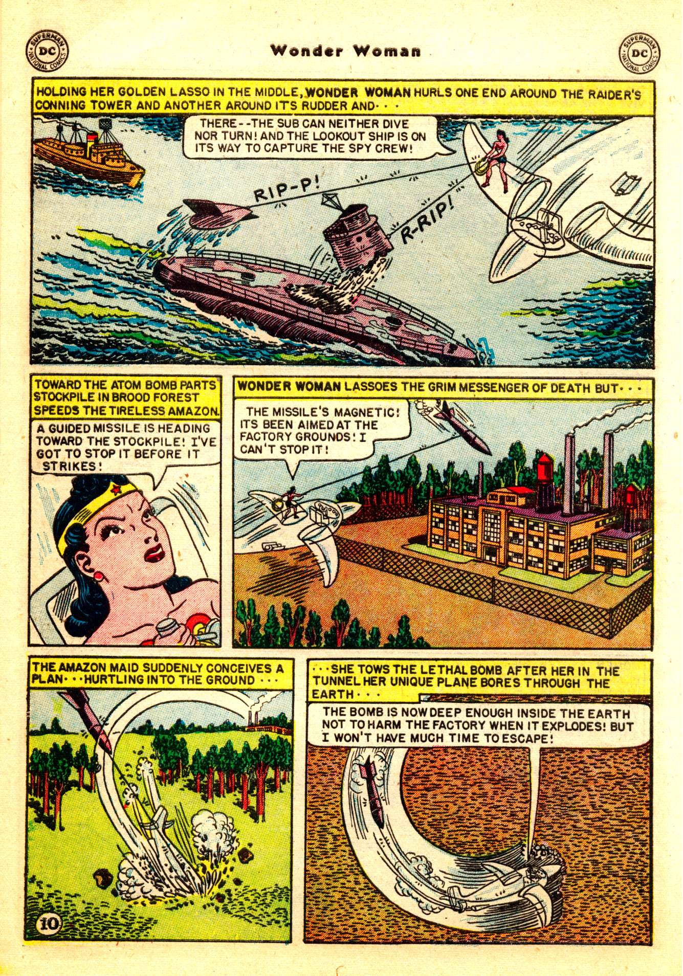 Read online Wonder Woman (1942) comic -  Issue #50 - 12
