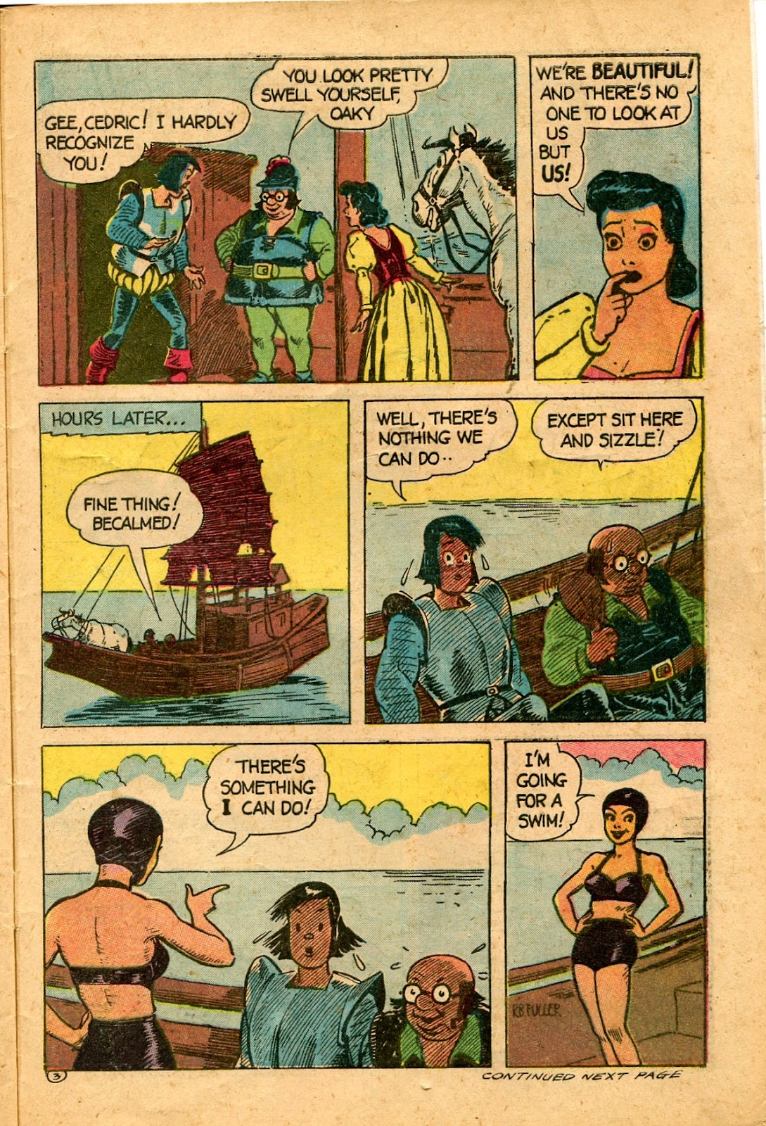 Read online Famous Funnies comic -  Issue #136 - 33