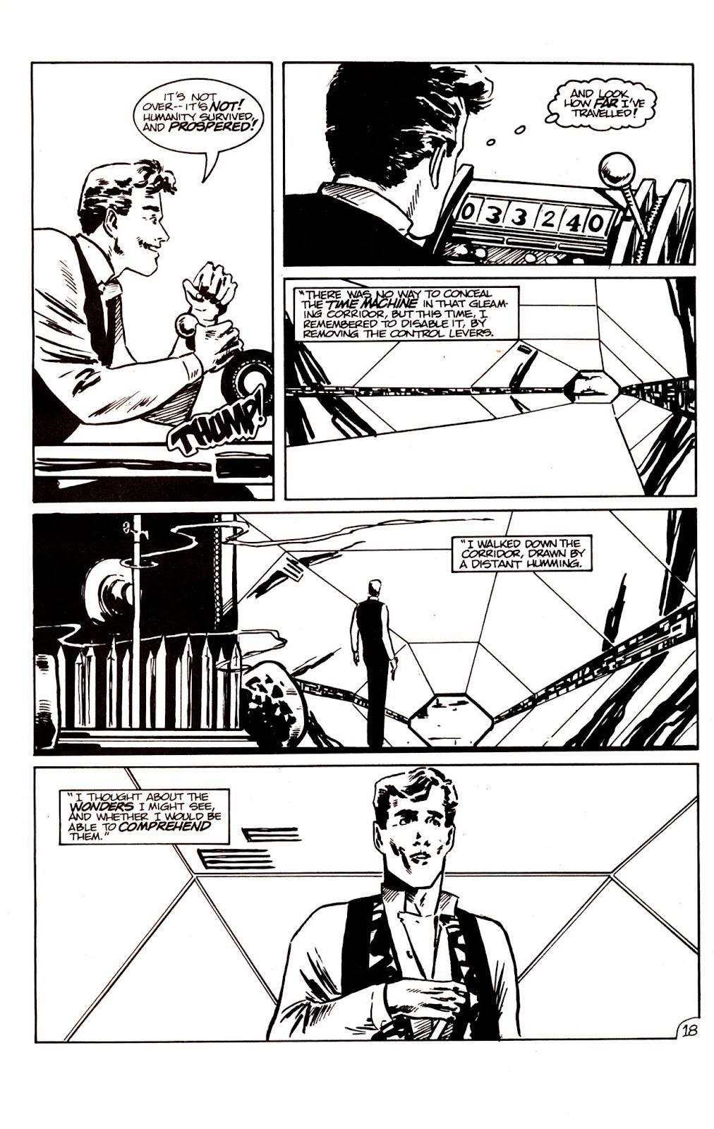 The Time Machine issue 1 - Page 21