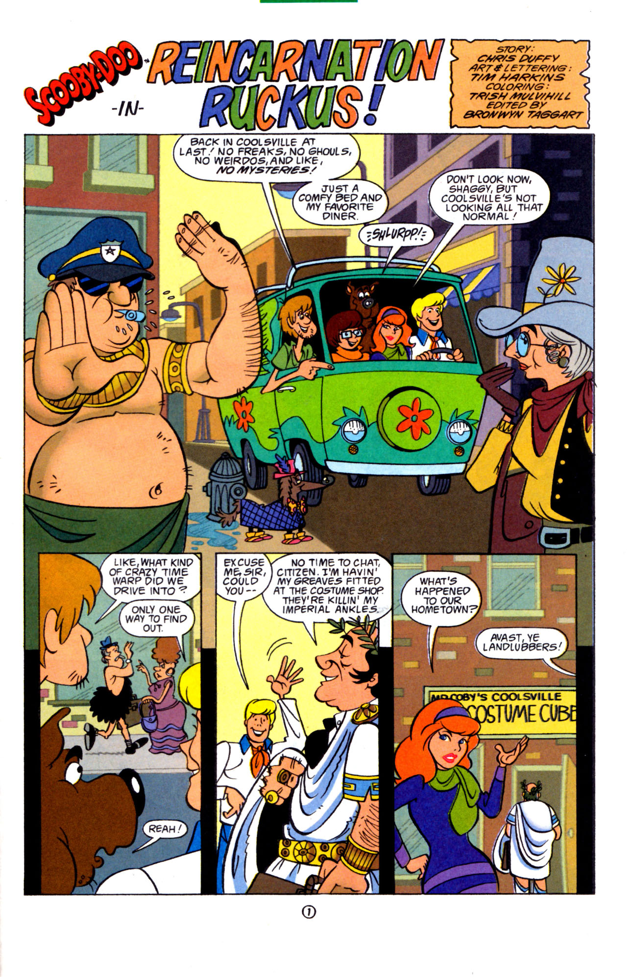 Read online Scooby-Doo (1997) comic -  Issue #7 - 16