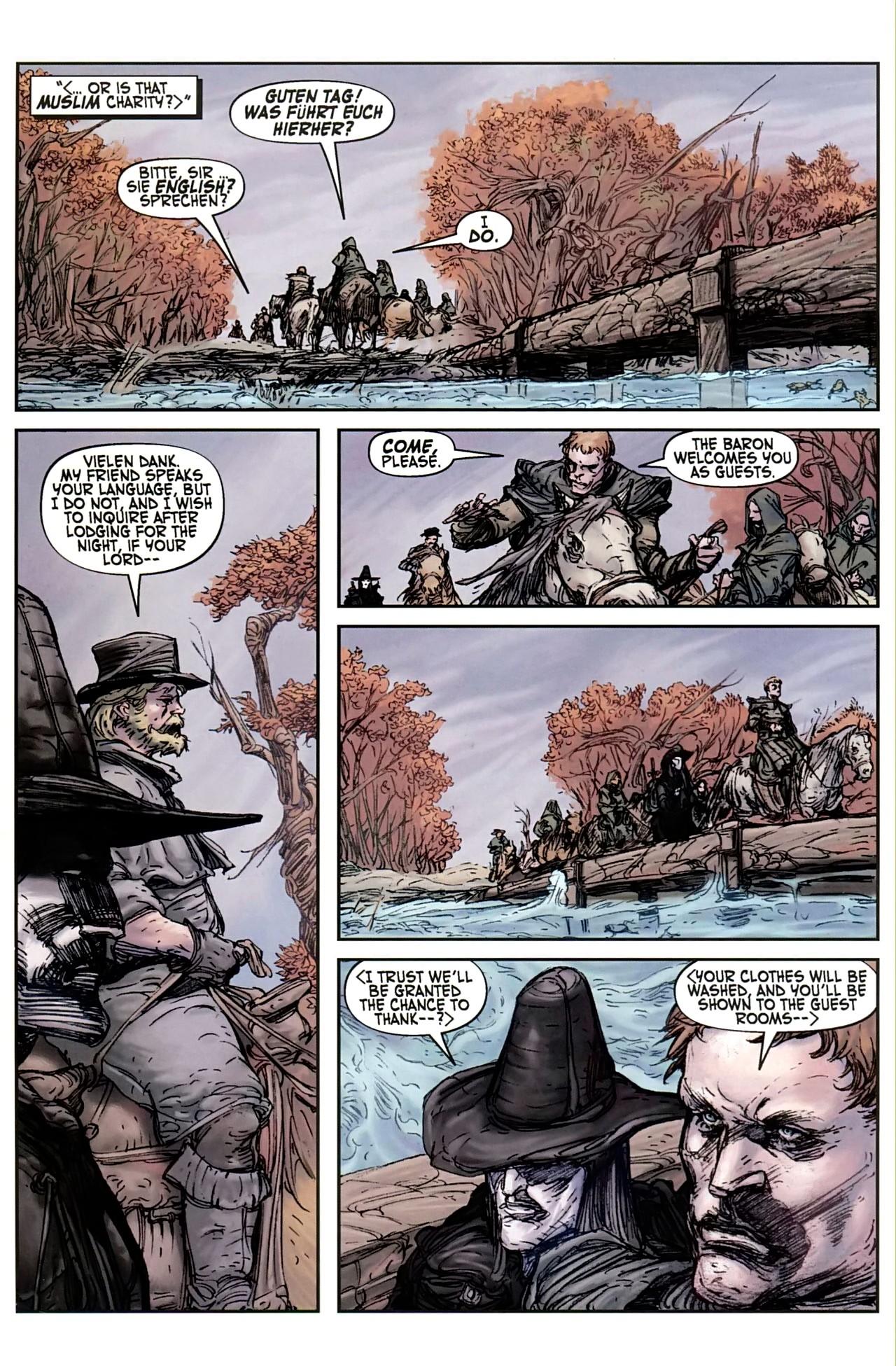 Read online Solomon Kane comic -  Issue #1 - 17