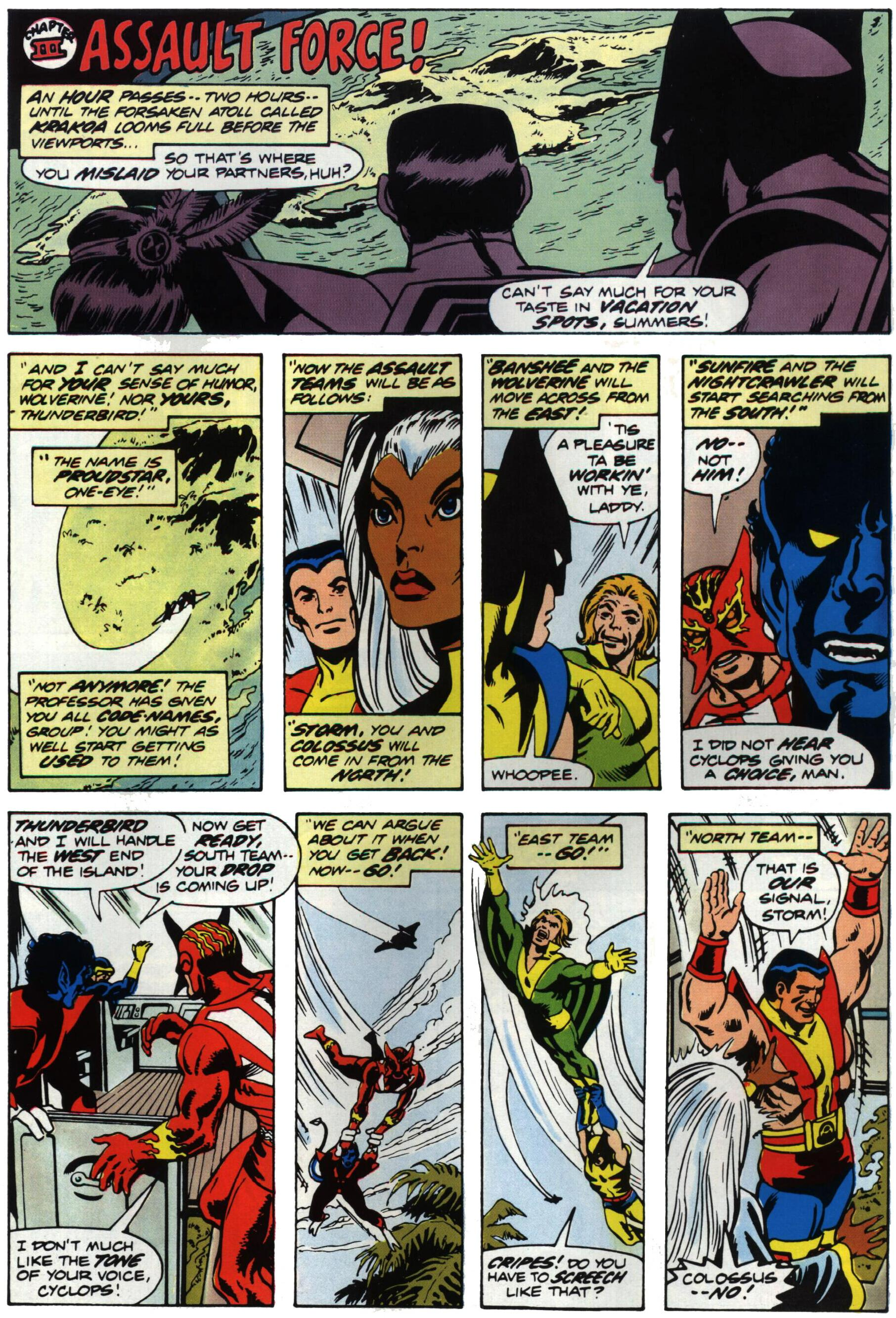 Read online Giant-Size X-Men comic -  Issue #1 - 22