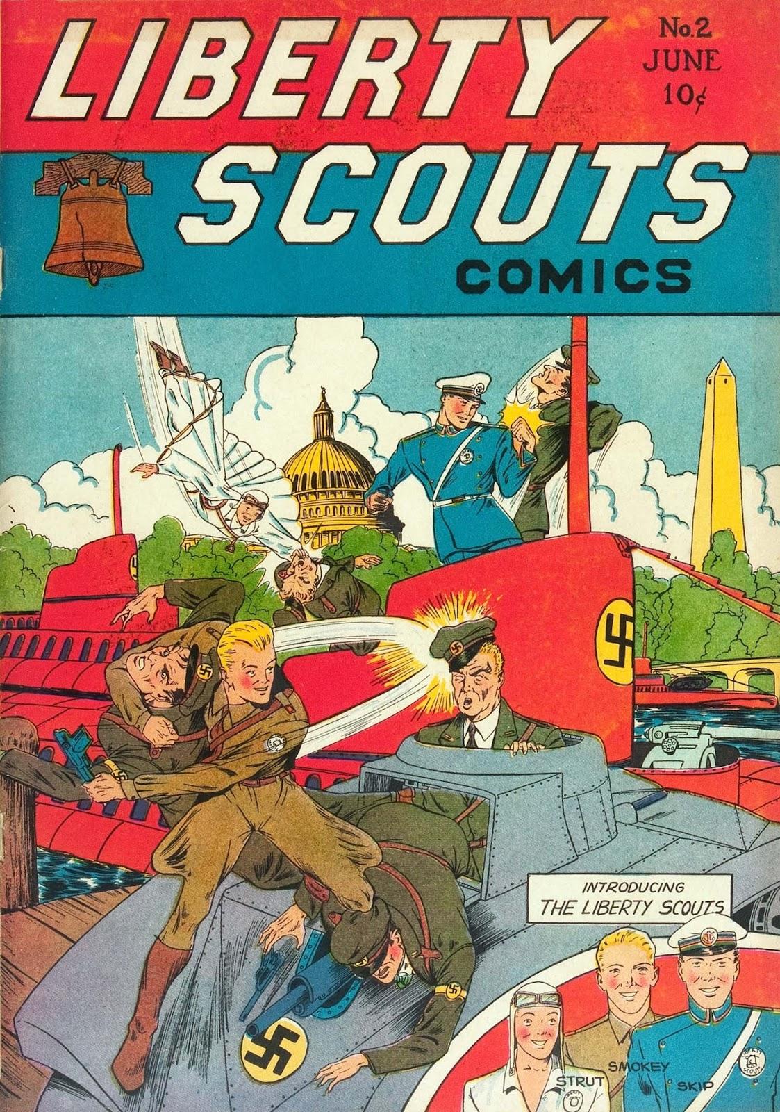 Liberty Scouts Comics 2 Page 1