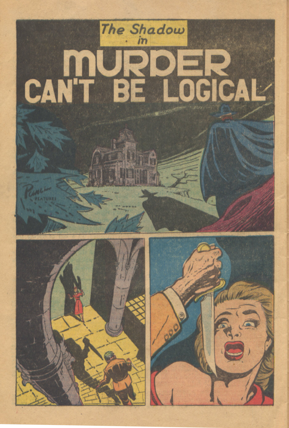Read online Shadow Comics comic -  Issue #95 - 42