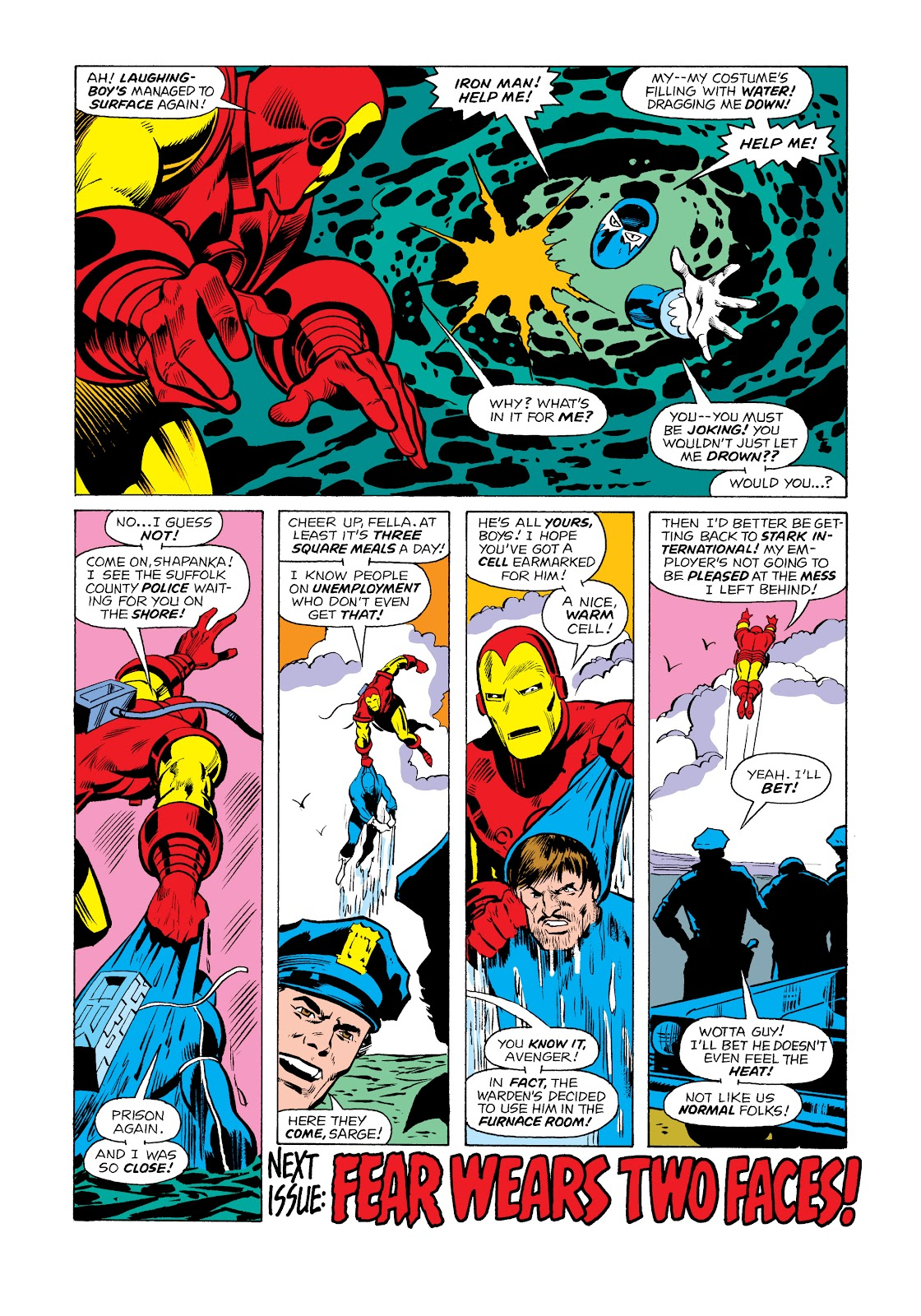 Read online Marvel Masterworks: The Invincible Iron Man comic -  Issue # TPB 11 (Part 2) - 20