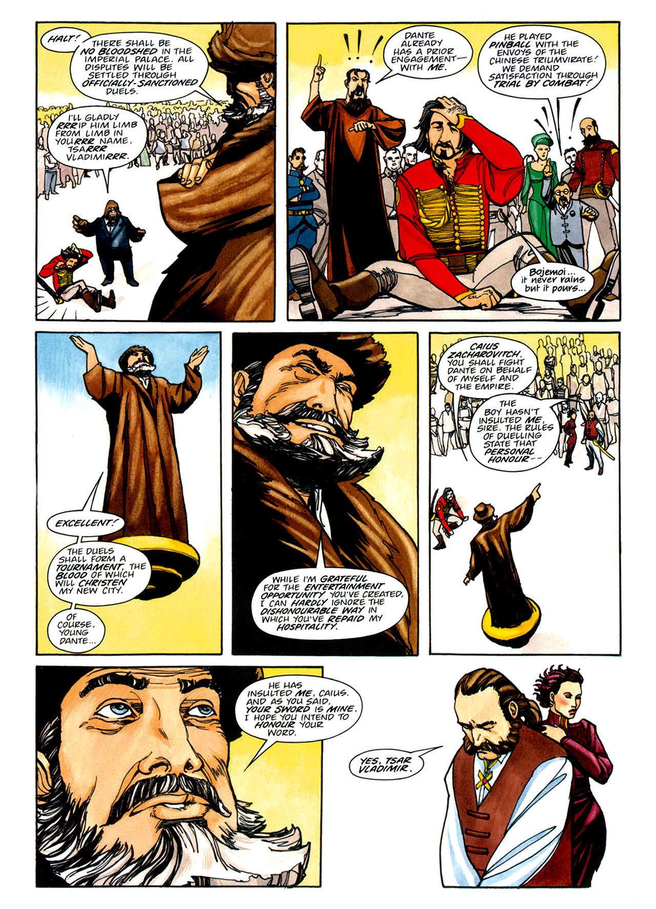 Read online Nikolai Dante comic -  Issue # TPB 1 - 141