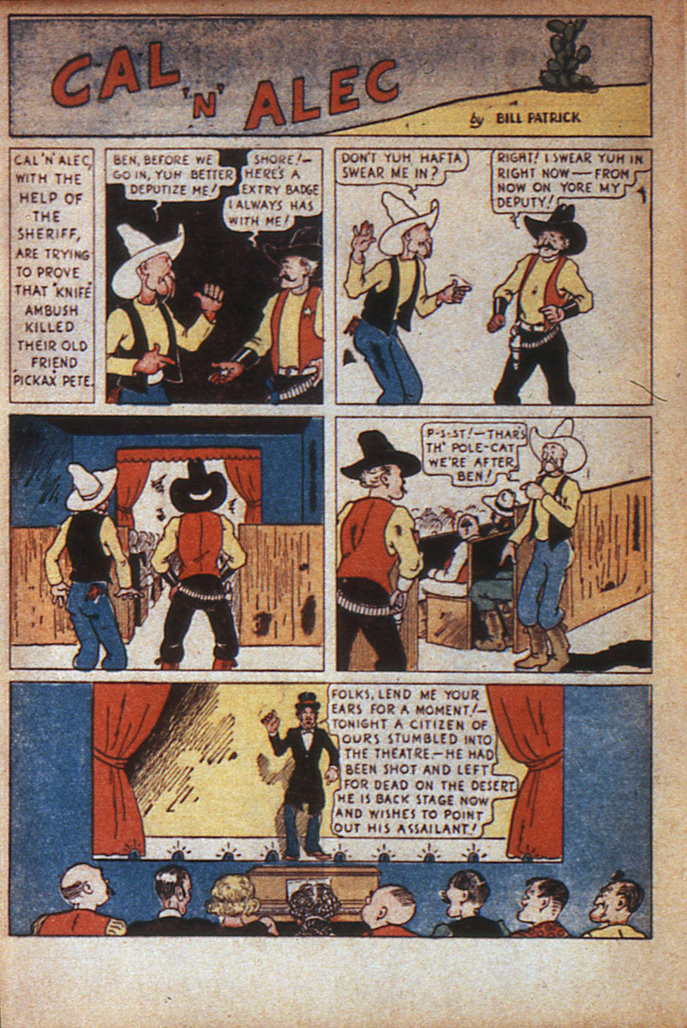 Read online Adventure Comics (1938) comic -  Issue #7 - 17