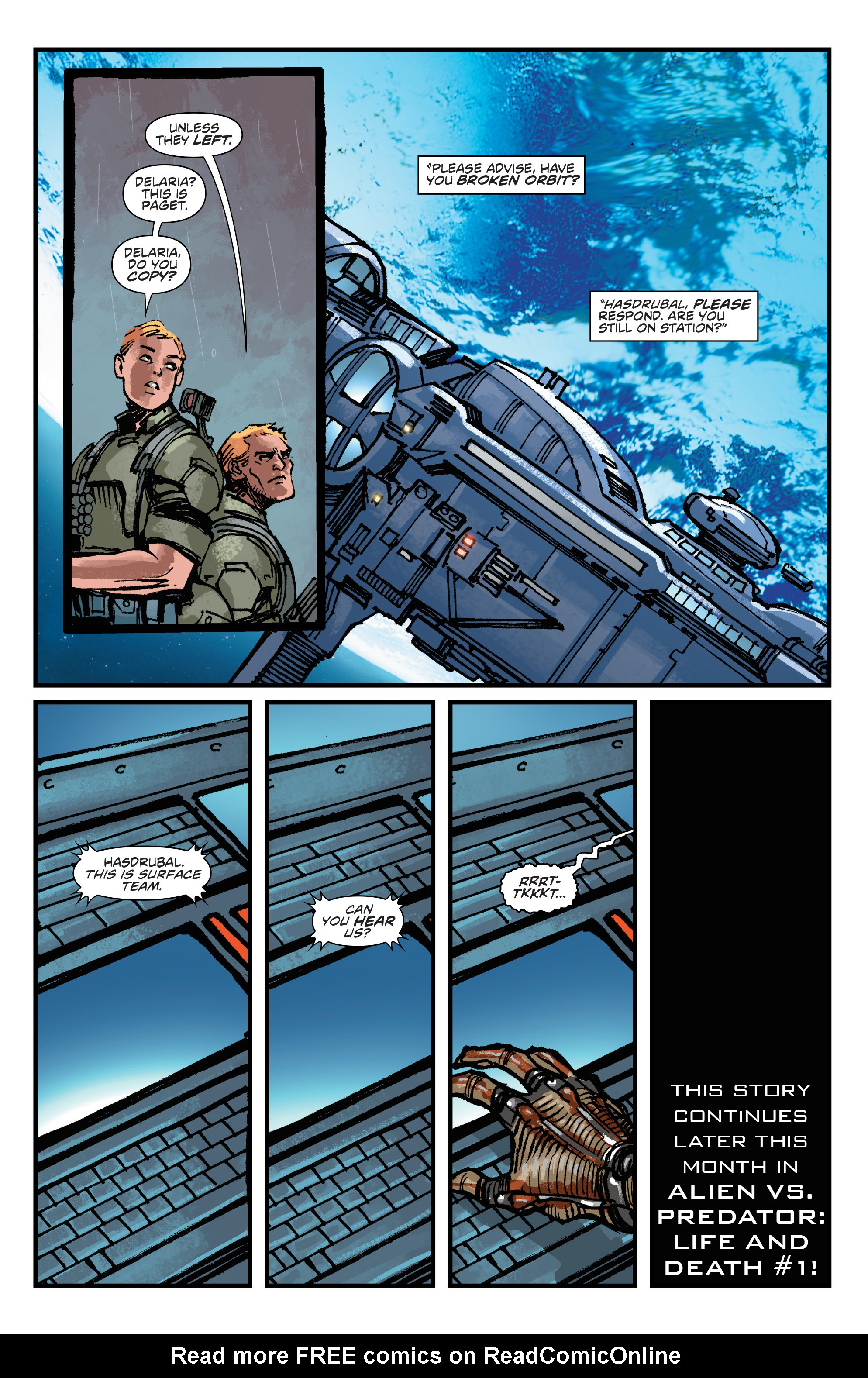 Read online Aliens: Life And Death comic -  Issue #4 - 24