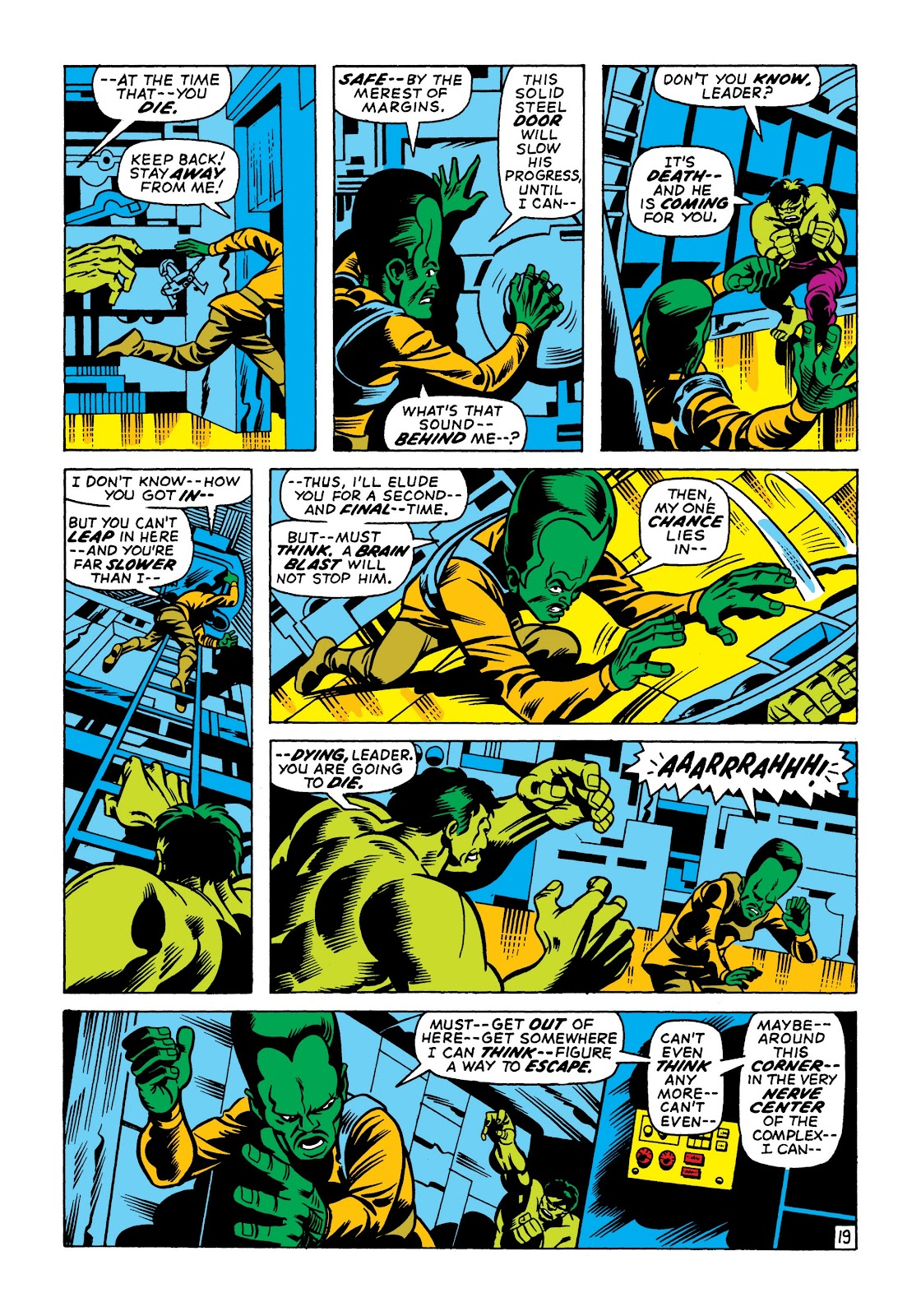 Read online Marvel Masterworks: The Incredible Hulk comic -  Issue # TPB 7 (Part 2) - 5