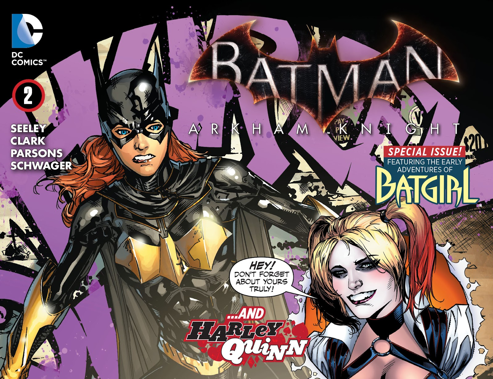 Batman: Arkham Knight: Batgirl & Harley Quinn 2 Page 1