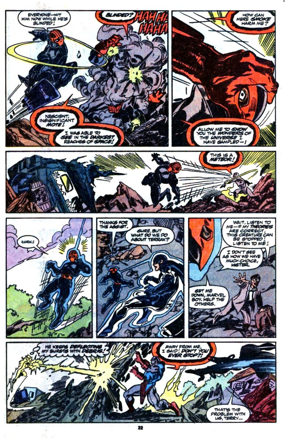 The New Warriors Issue #1 #5 - English 18