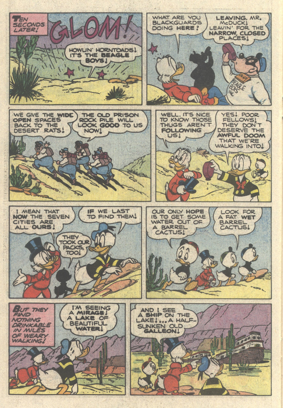 Read online Uncle Scrooge (1953) comic -  Issue #217 - 22