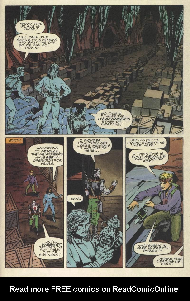 Read online Secret Weapons comic -  Issue #9 - 21