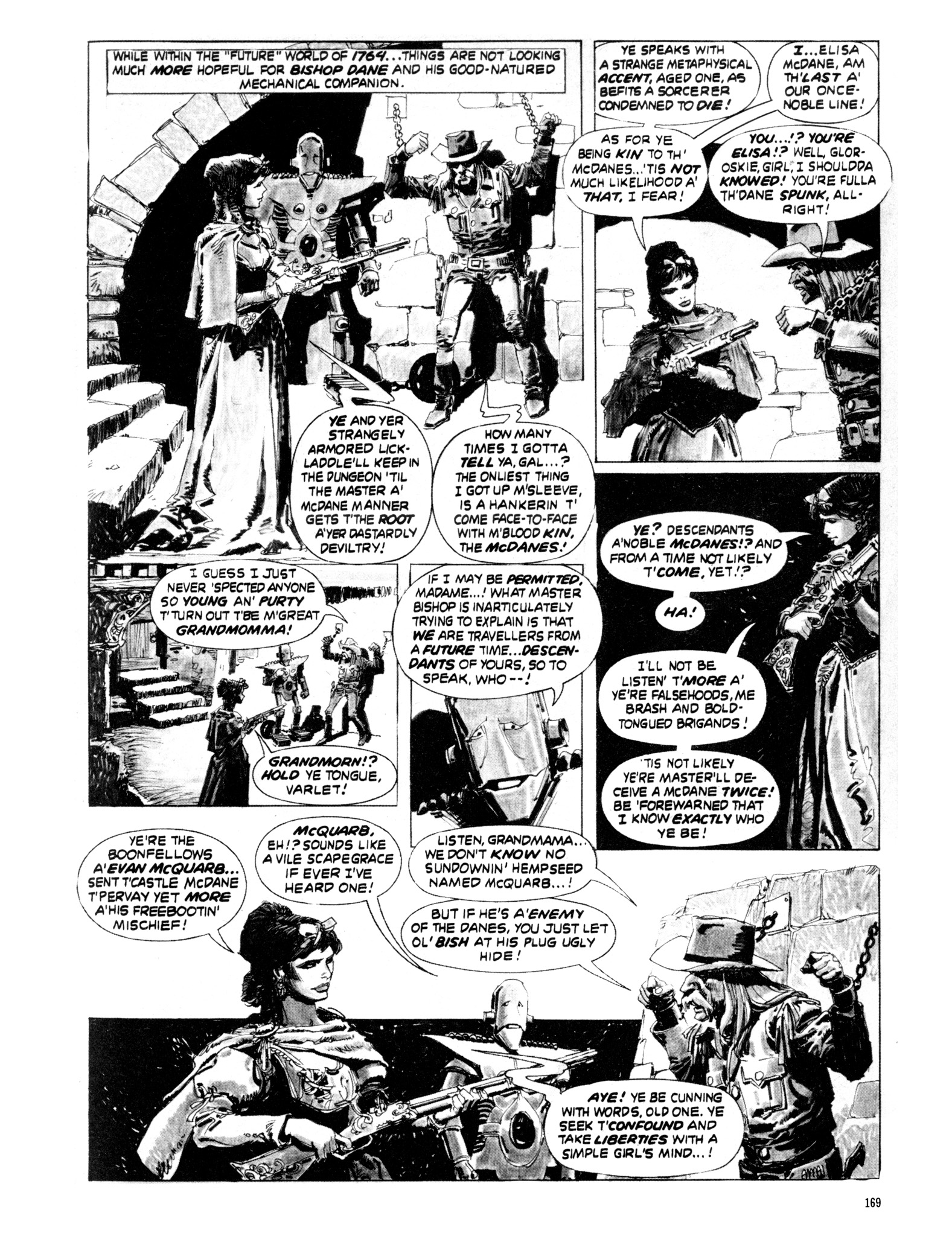 Read online Eerie Archives comic -  Issue # TPB 20 - 169
