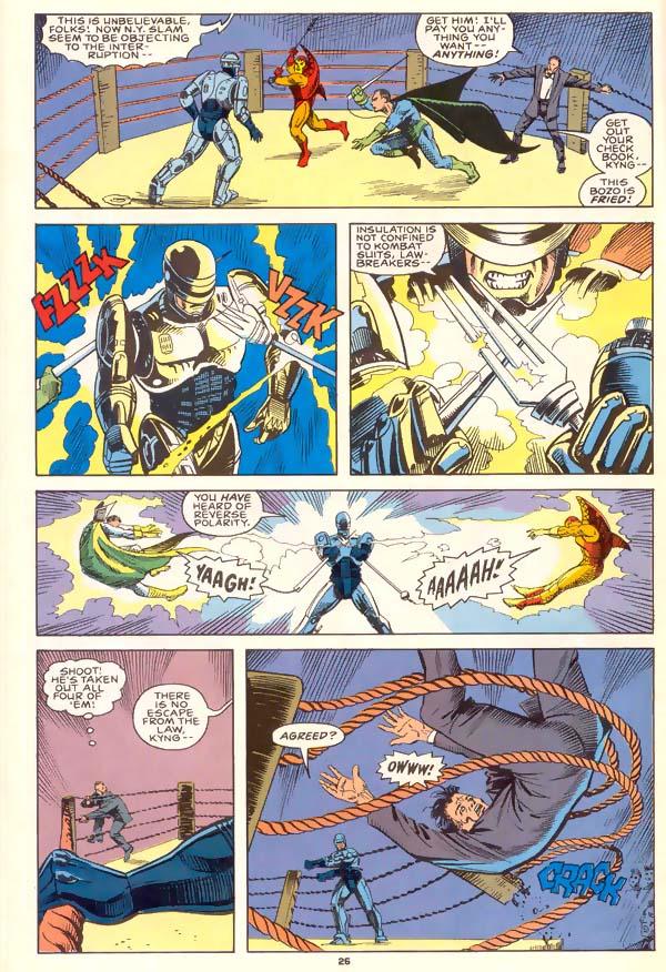 Read online Robocop (1990) comic -  Issue #1 - 20