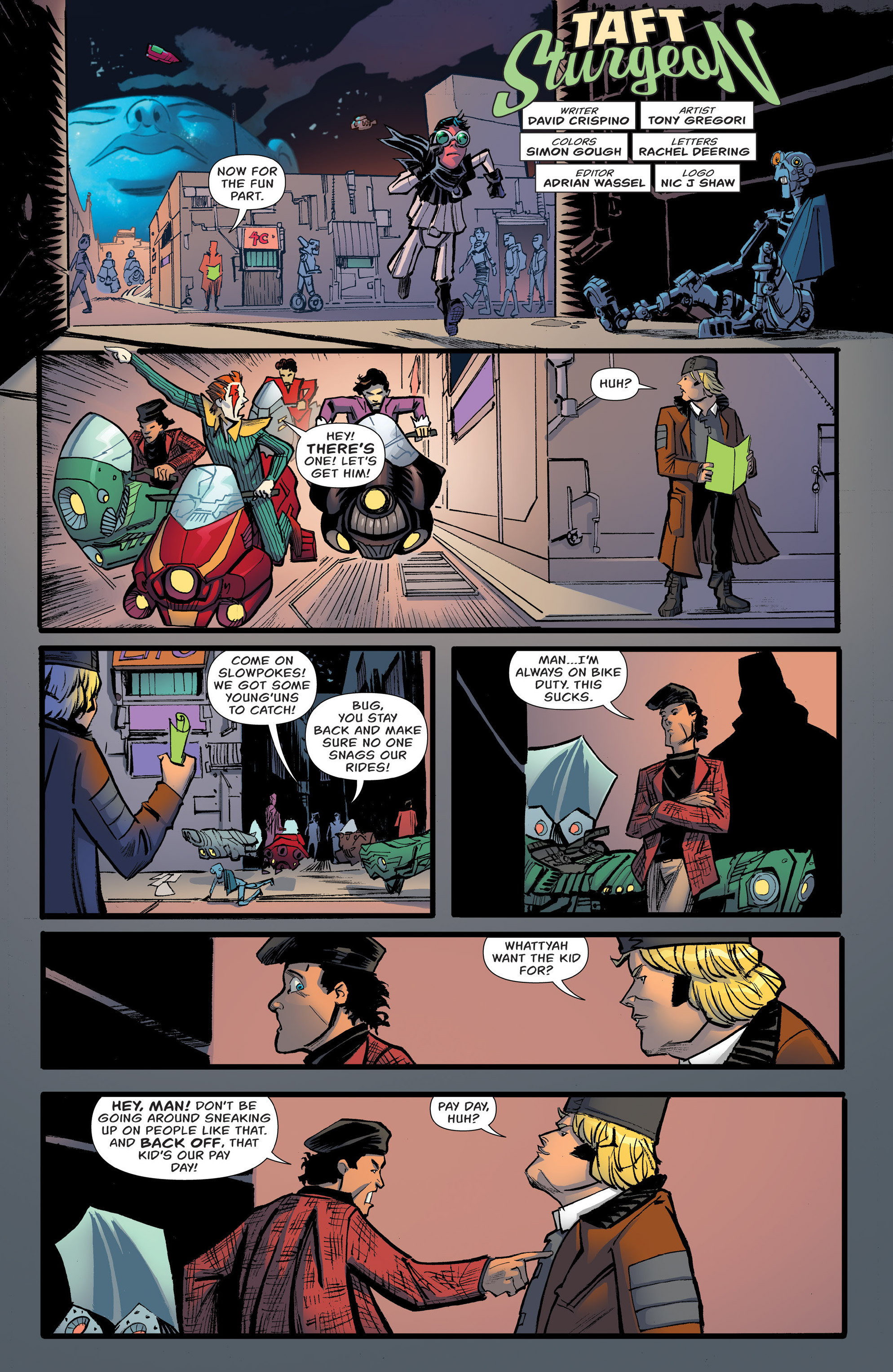 Read online Shutter comic -  Issue #27 - 23