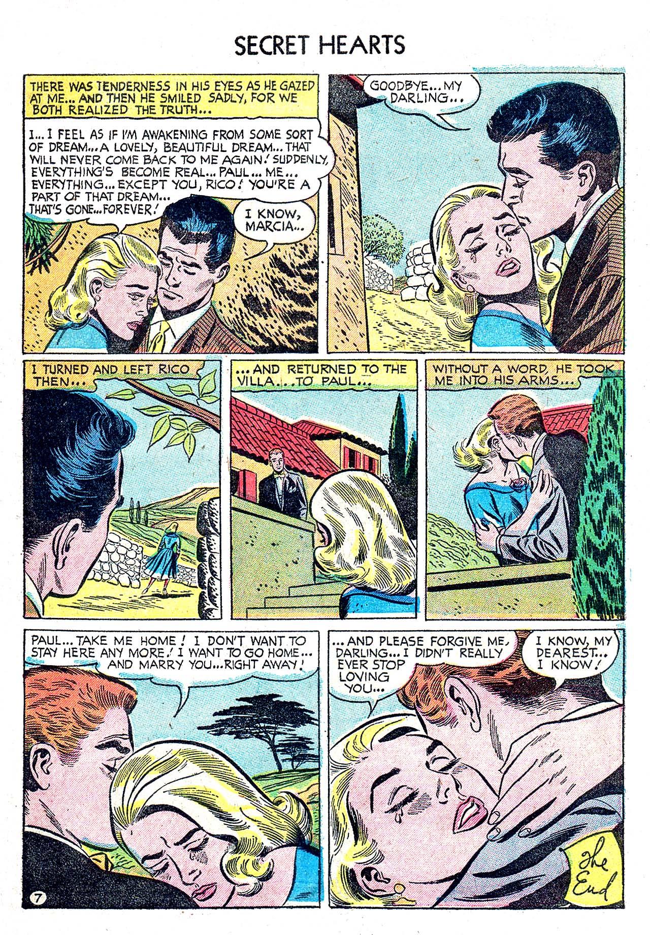 Read online Secret Hearts comic -  Issue #32 - 9
