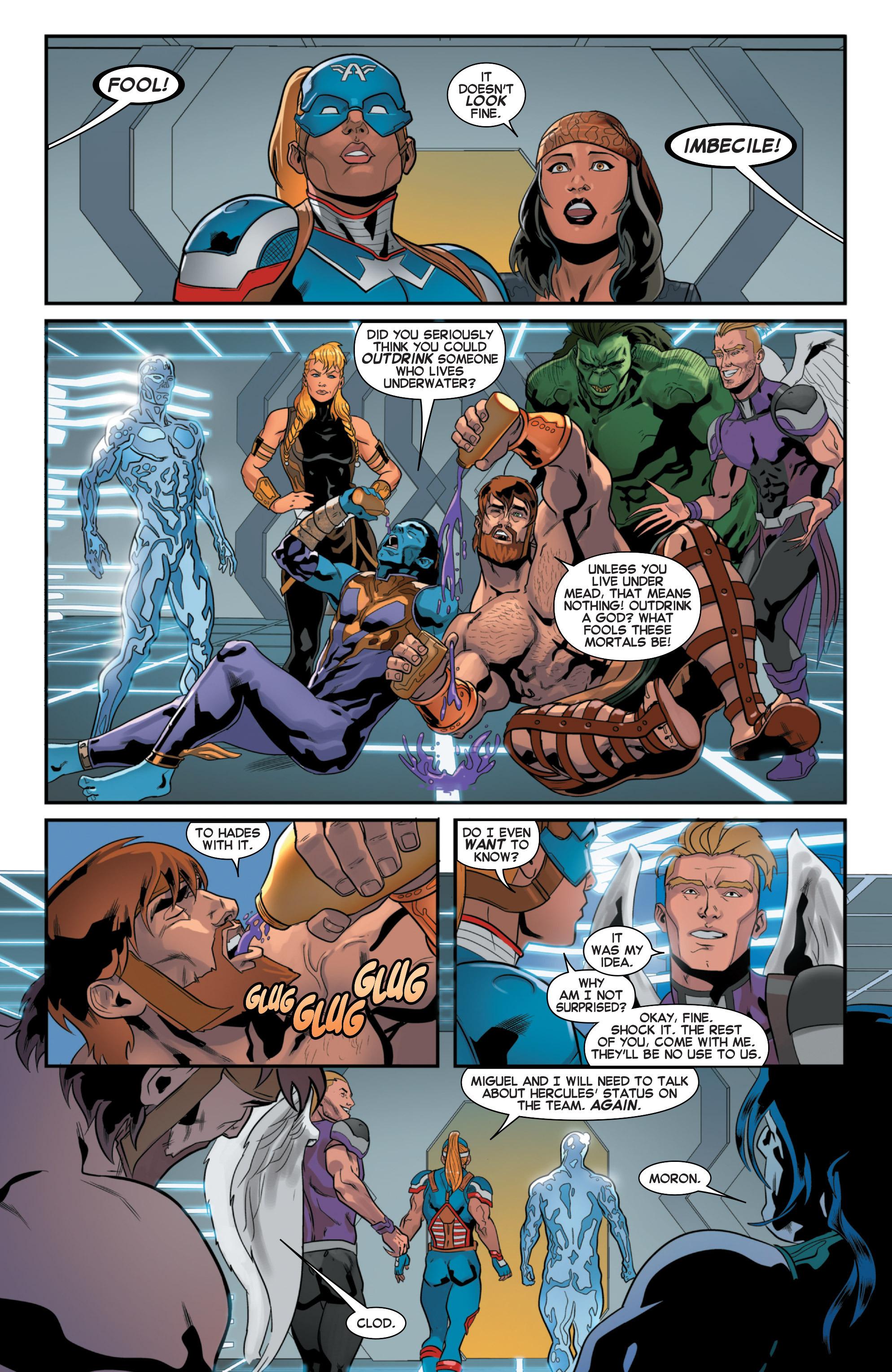 Read online Secret Wars 2099 comic -  Issue #3 - 17